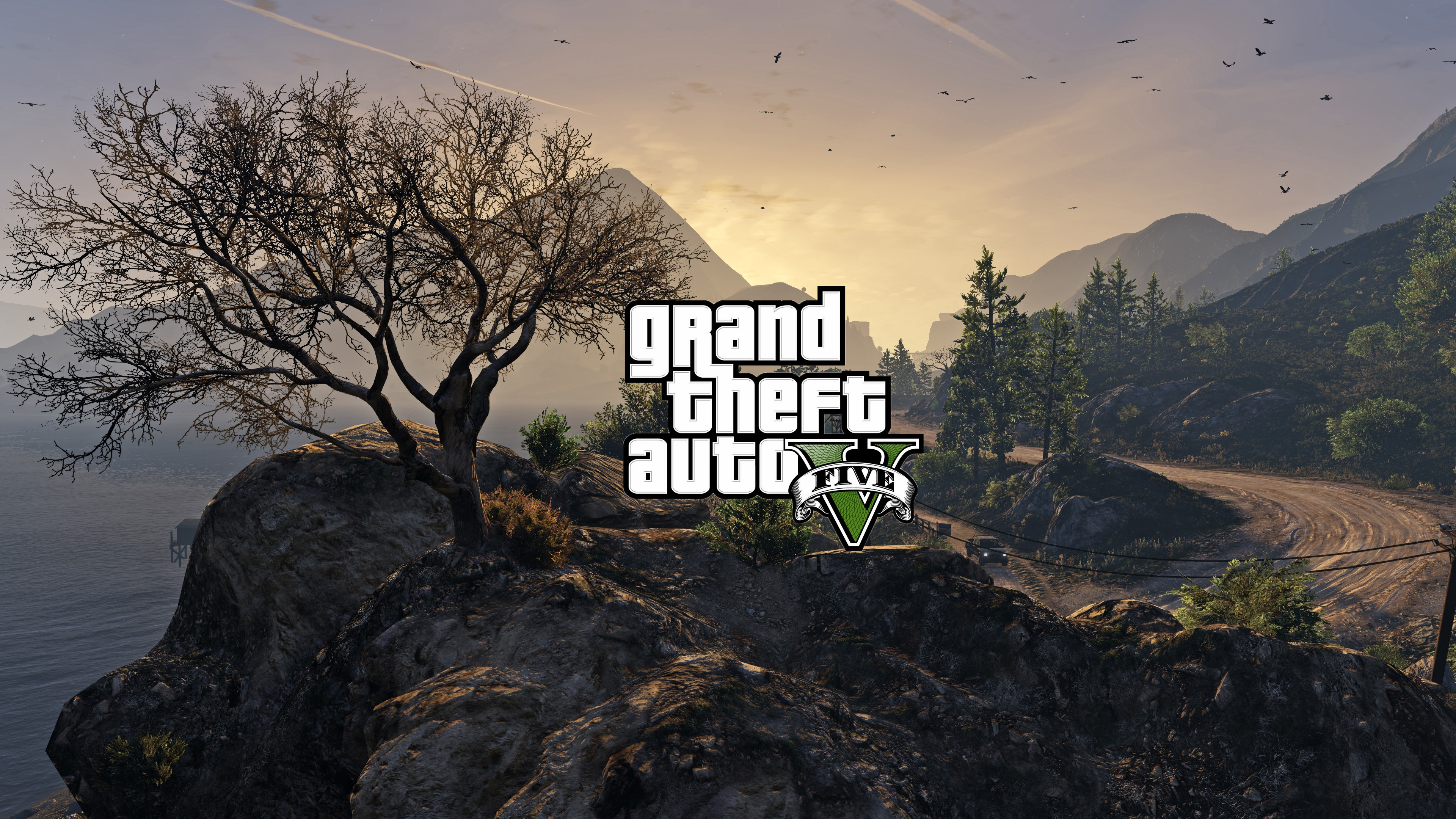 Gta 5 Logo 2, HD Games, 4k Wallpapers, Images, Backgrounds