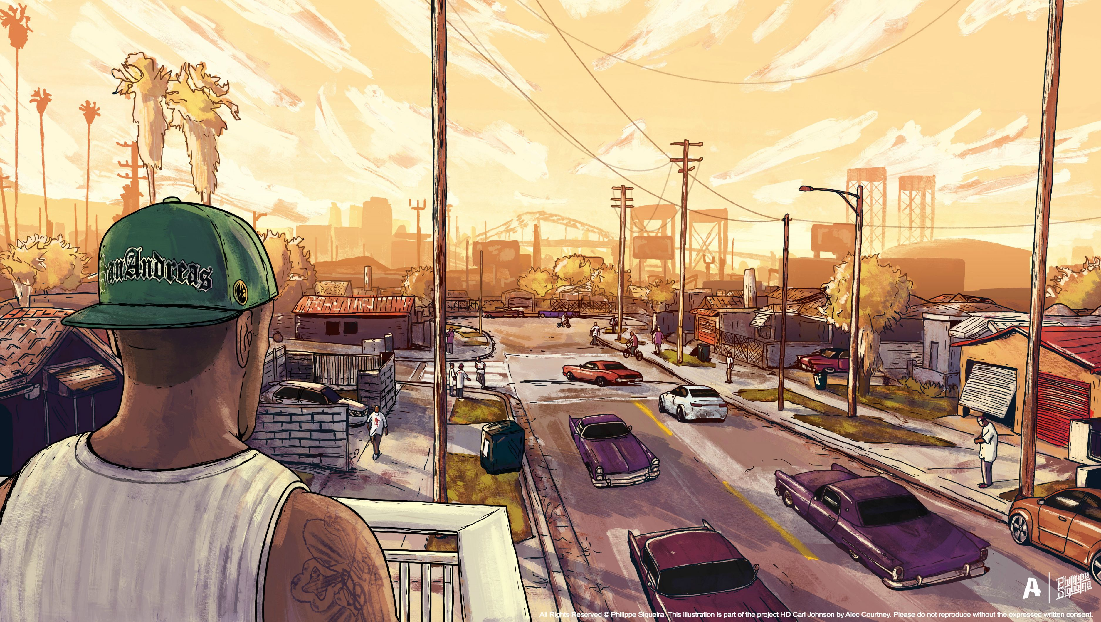 Gta San Andreas Artwork