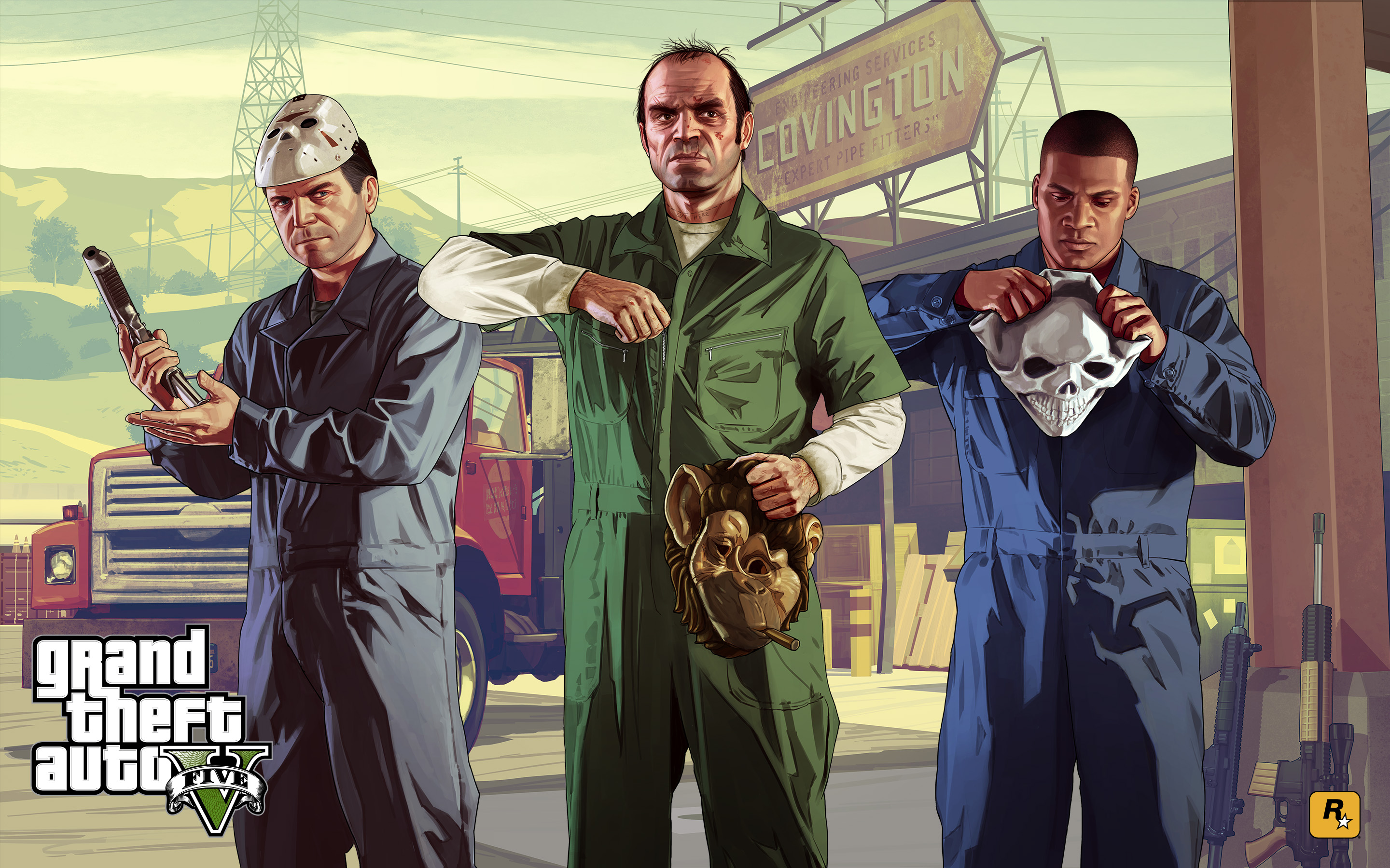 Gta v blitzplay hd games 4k wallpapers images - Gta v wallpaper ...