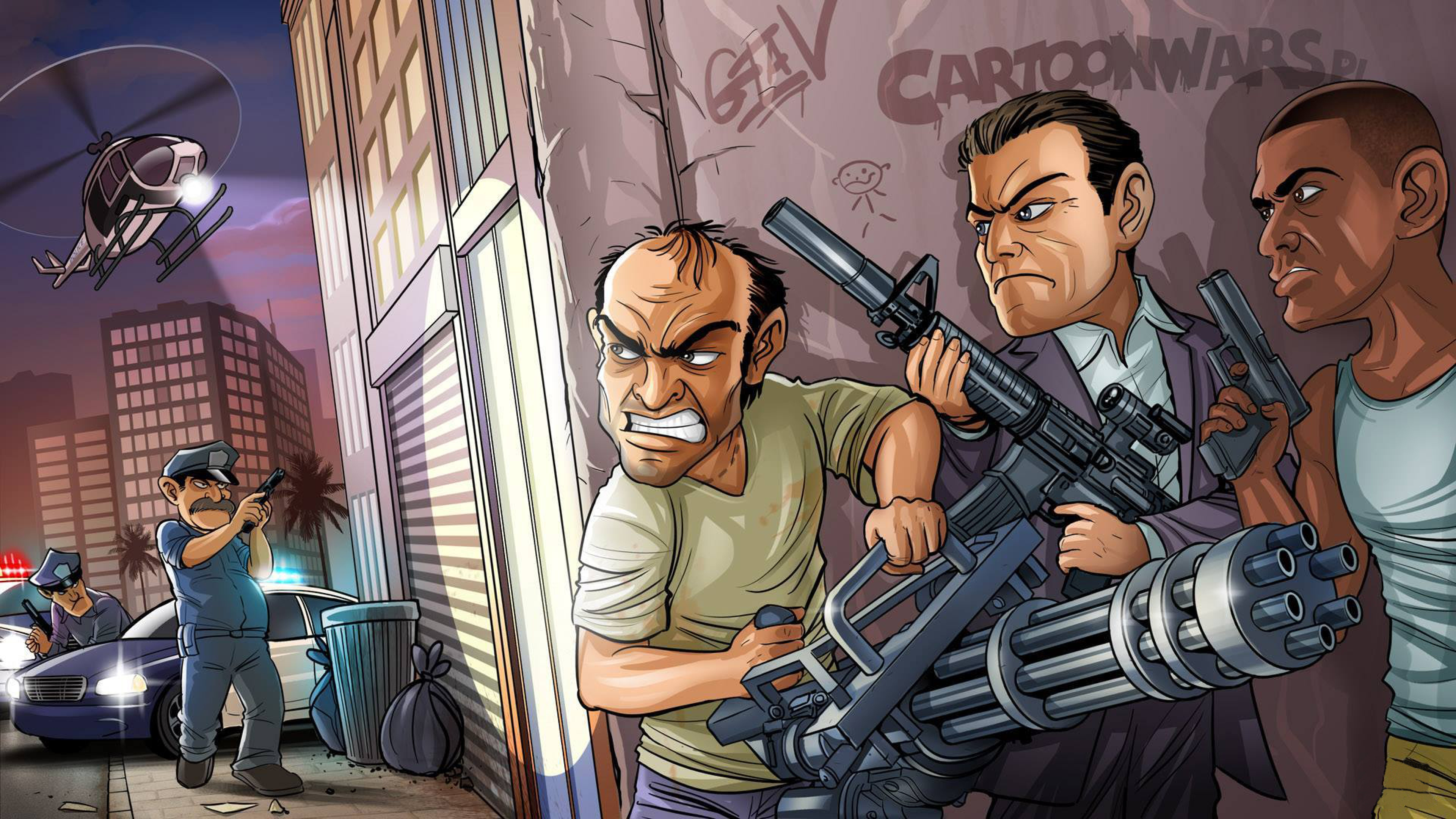 Franklin Grand Theft Auto V wallpaper Game wallpapers