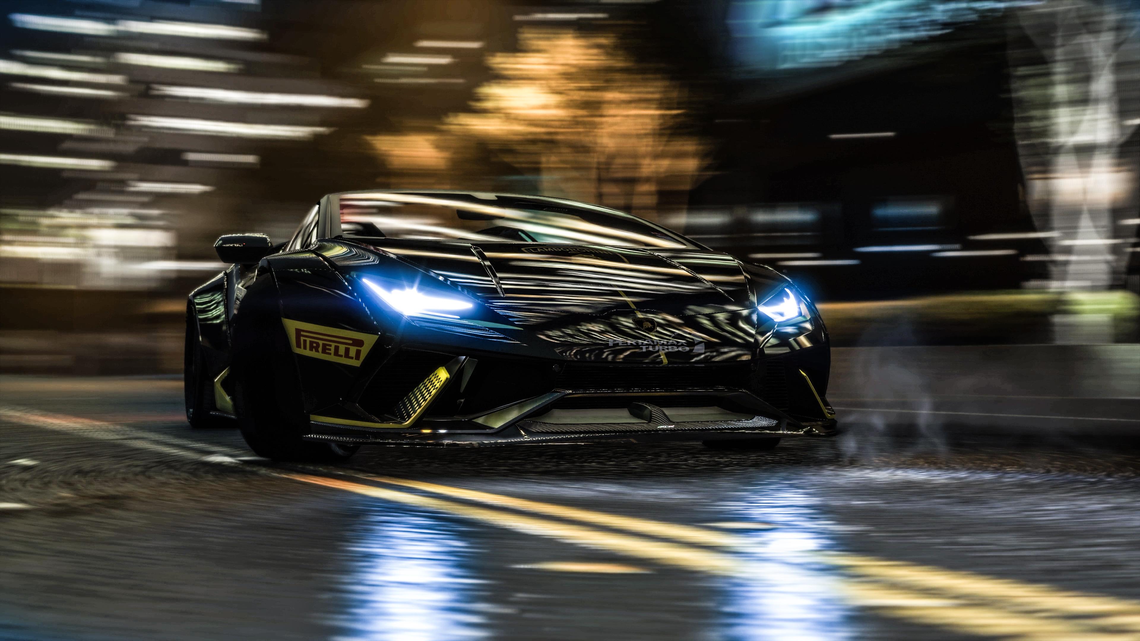 2048x1152 Gta V Redux Nature 2048x1152 Resolution Hd 4k: GTA V Lamborghini In Motion 4k, HD Games, 4k Wallpapers