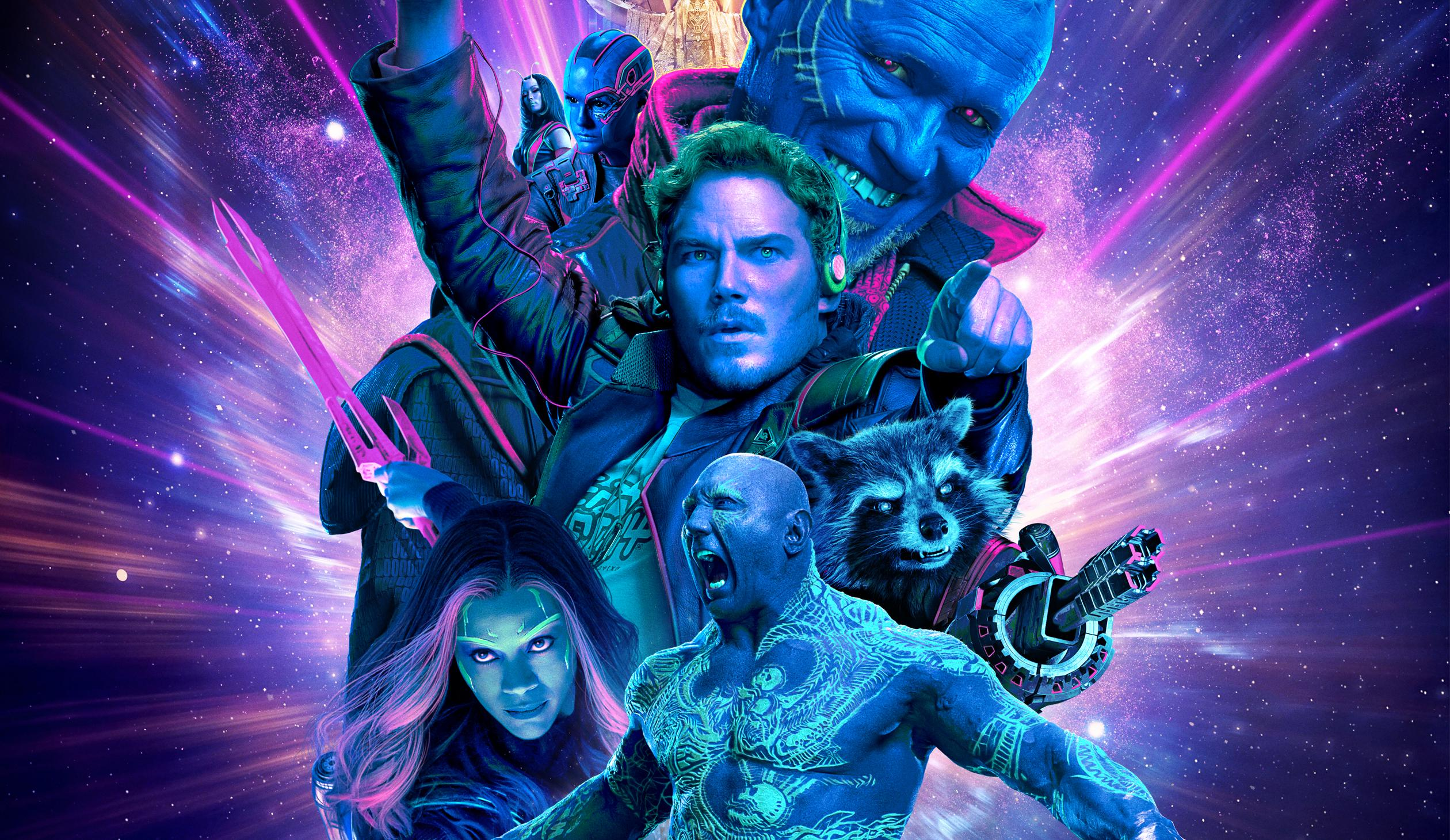 Guardians Of The Galaxy 2 Desktop Wallpaper: Guardians Of The Galaxy Vol 2 Imax, HD Movies, 4k