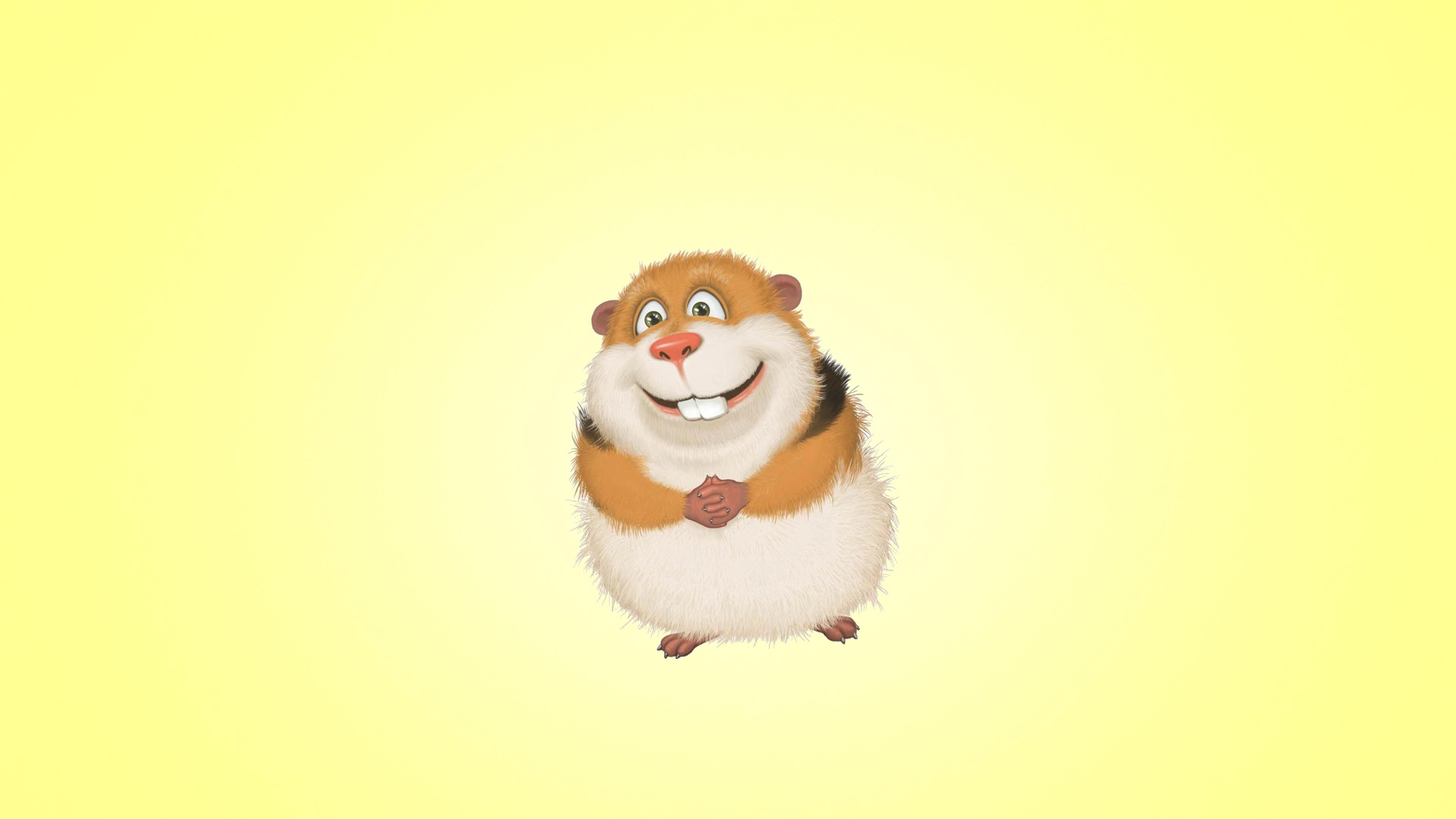 Guinea pig hamster hd cartoons 4k wallpapers images - Pig wallpaper cartoon pig ...