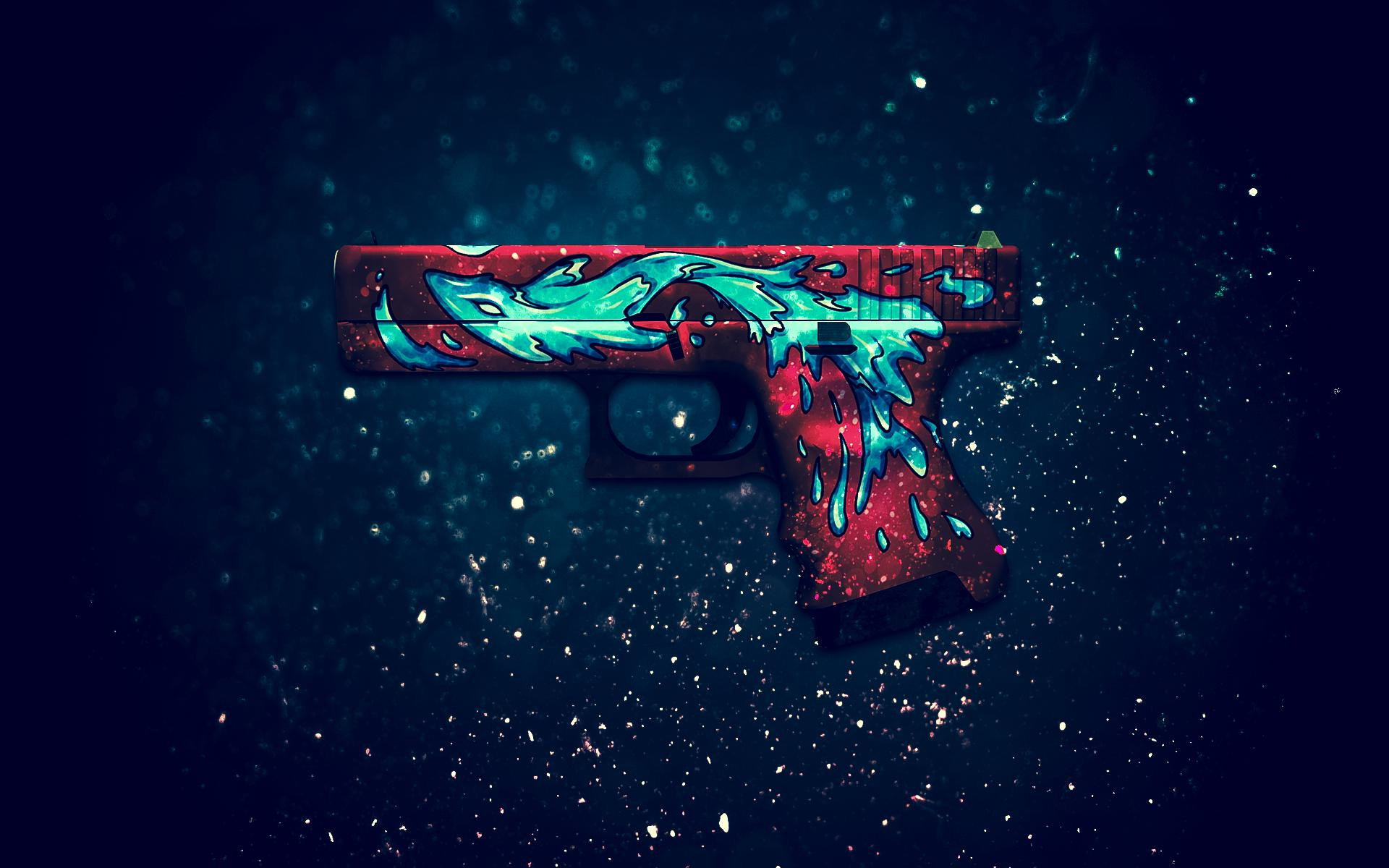 Gun Digital Art