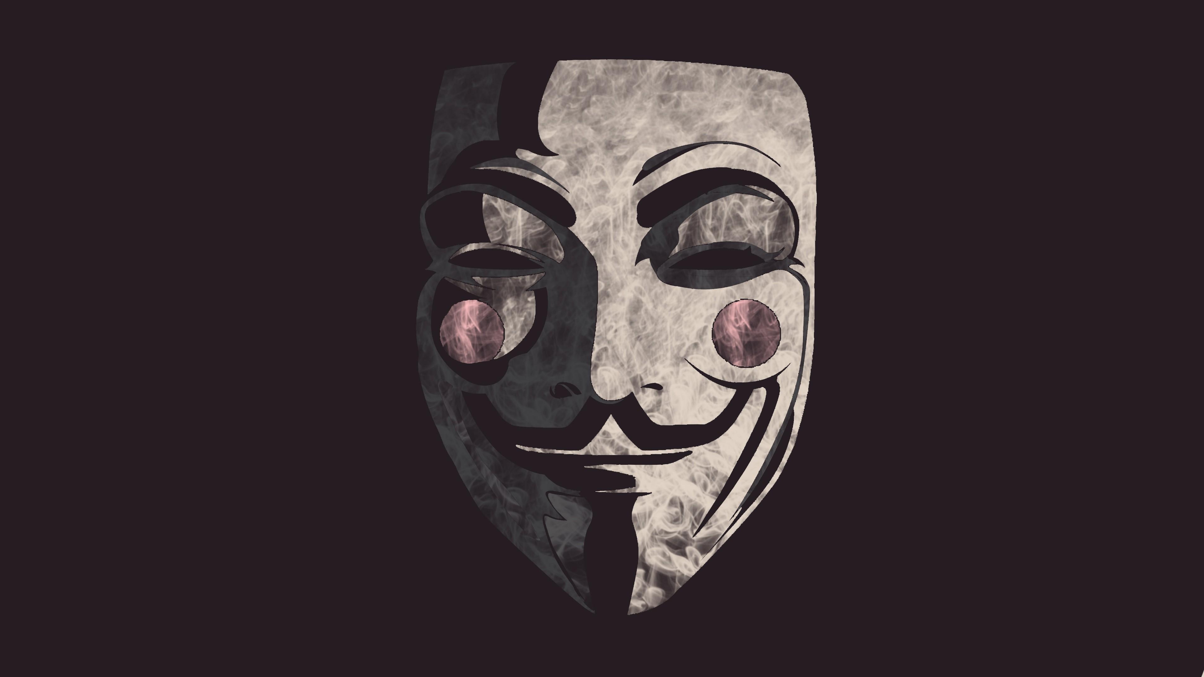 Guy Fawkes Mask Background