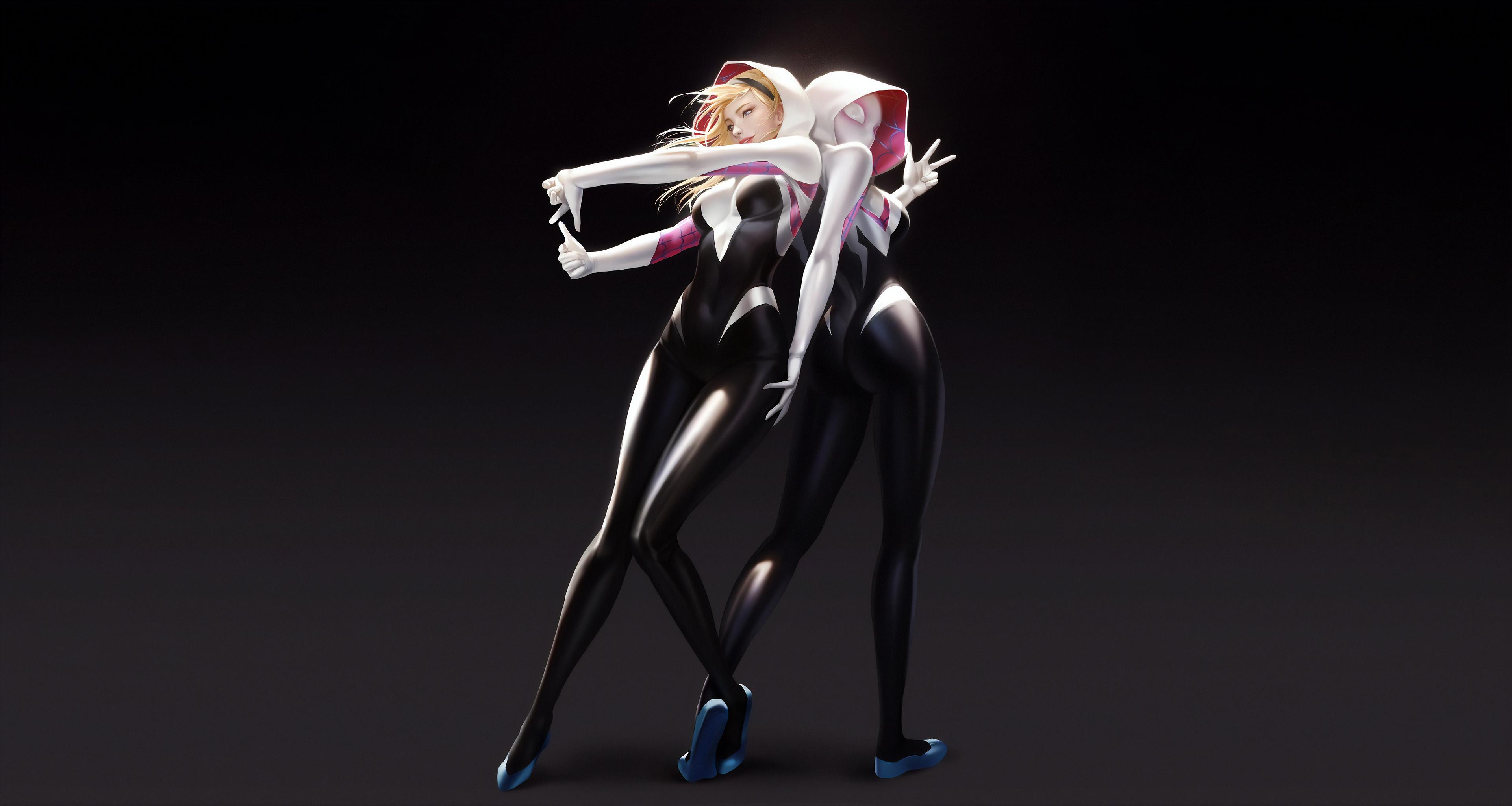 Gwen Stacy Spider Girl 4k, HD Superheroes, 4k Wallpapers ...