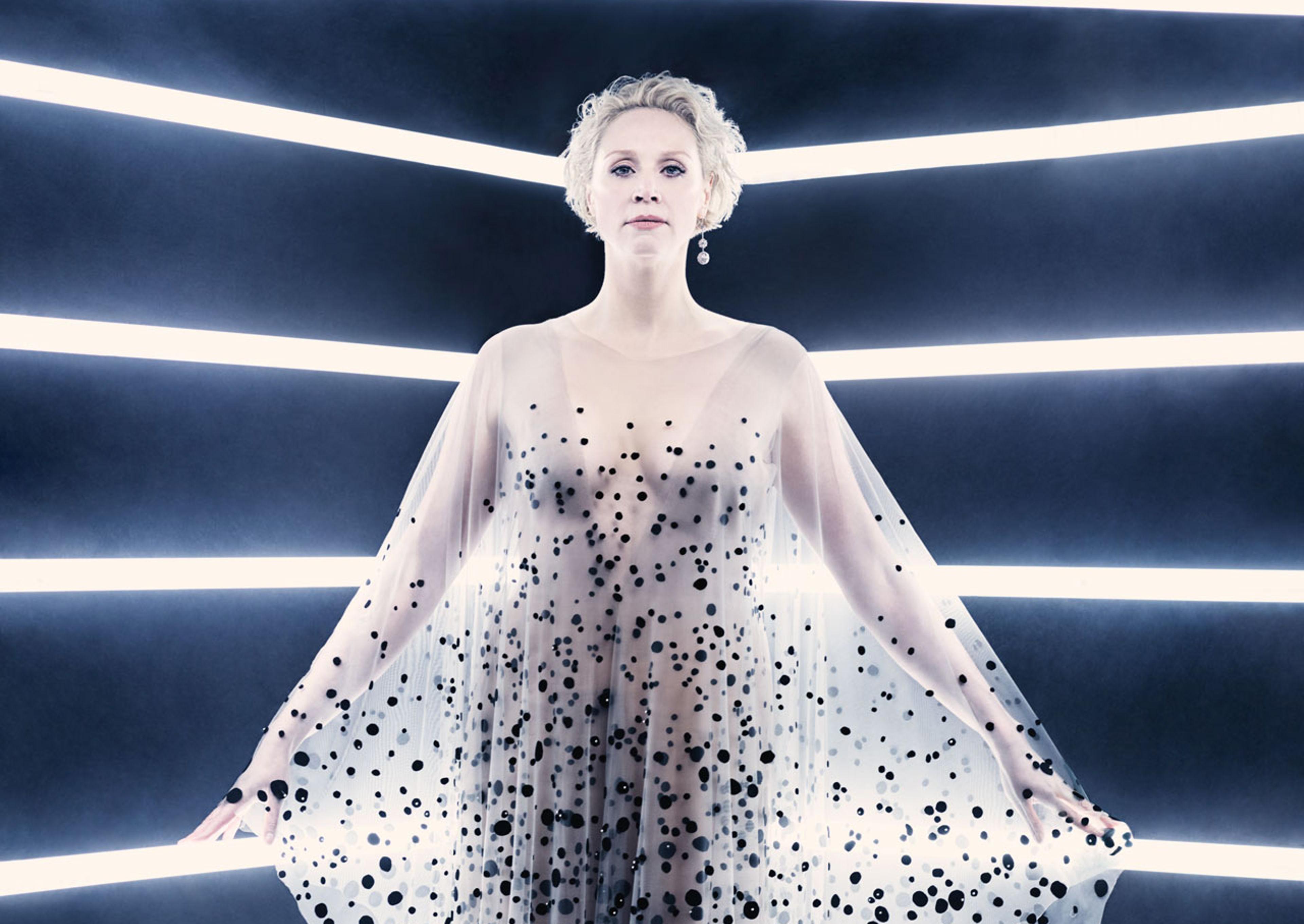 Gwendoline Christie As Captain Phasma In British Vogue ...