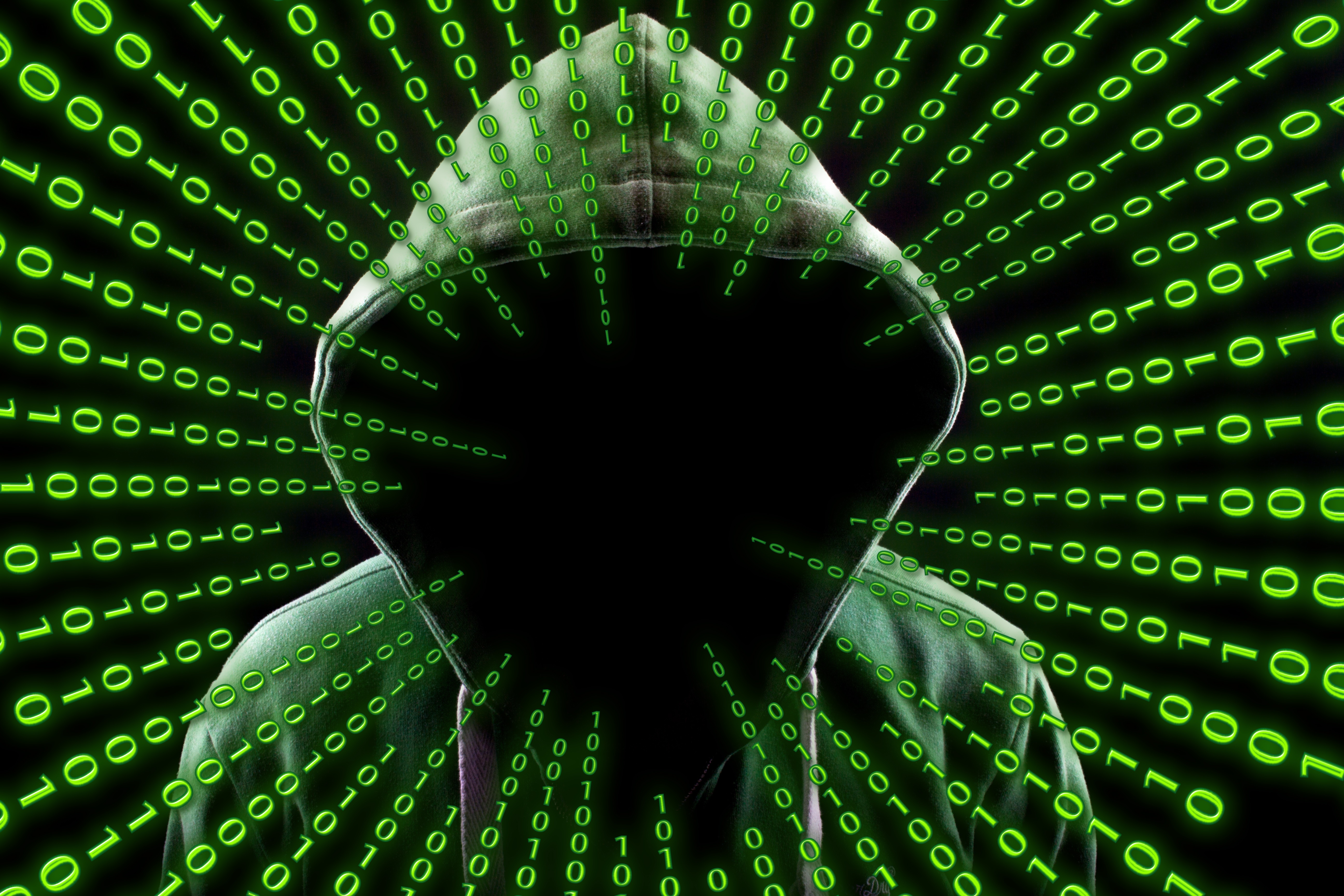 Hacker Attack Binary Code Hd Computer 4k Wallpapers Images
