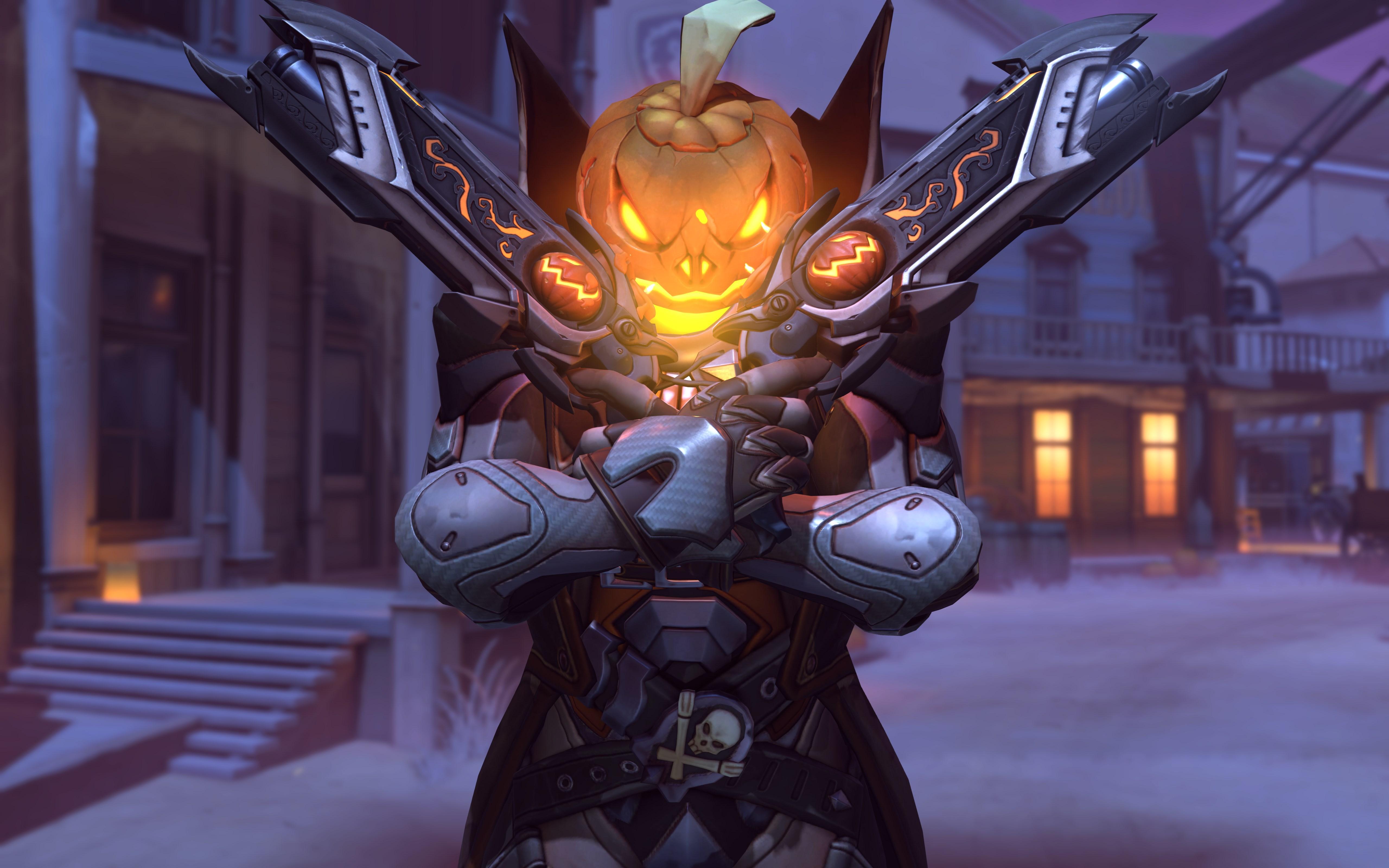 Halloween Reaper Overwatch
