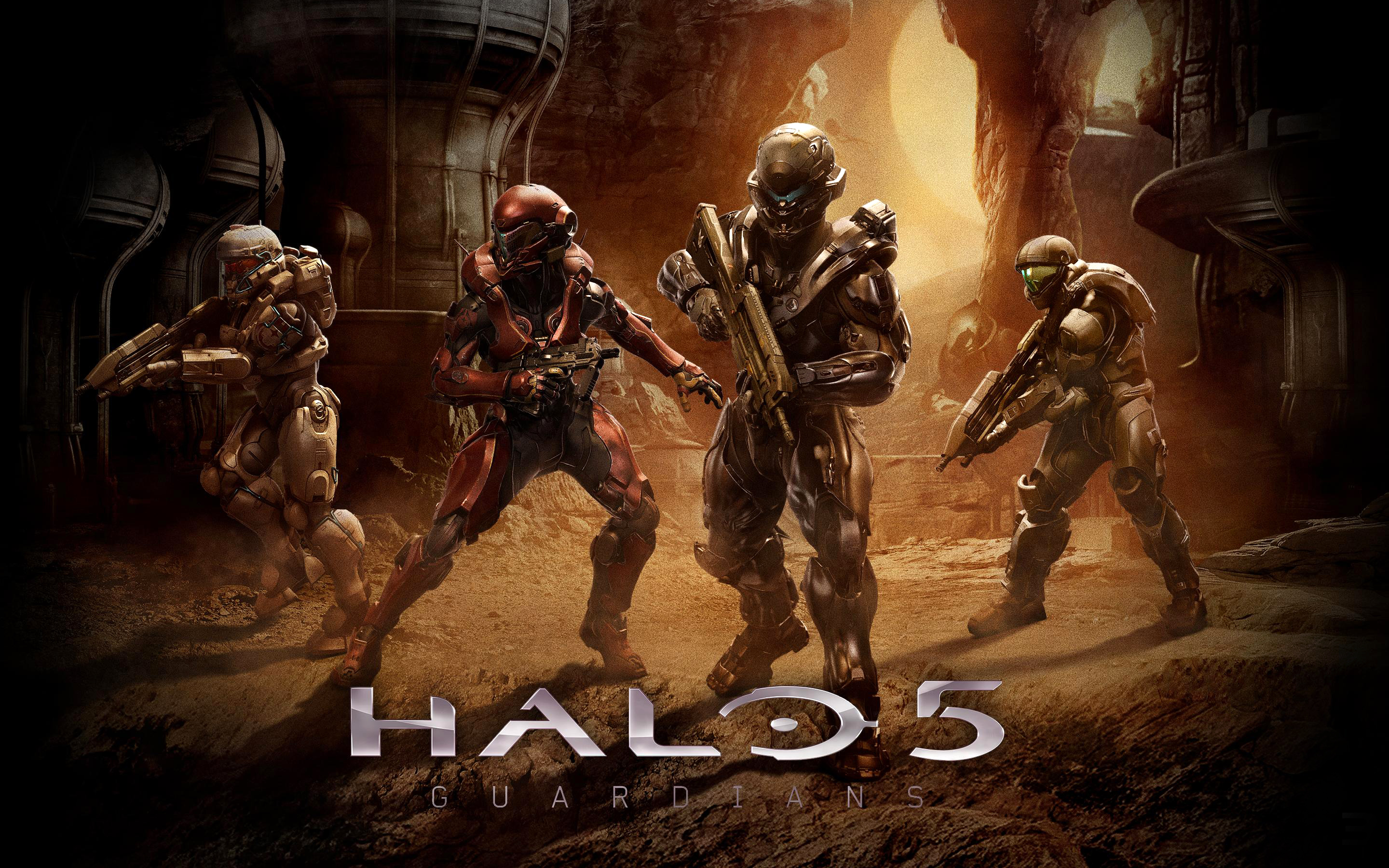 Halo 5 Guardians Wallpaper: Halo 5 Guardians Team, HD Games, 4k Wallpapers, Images