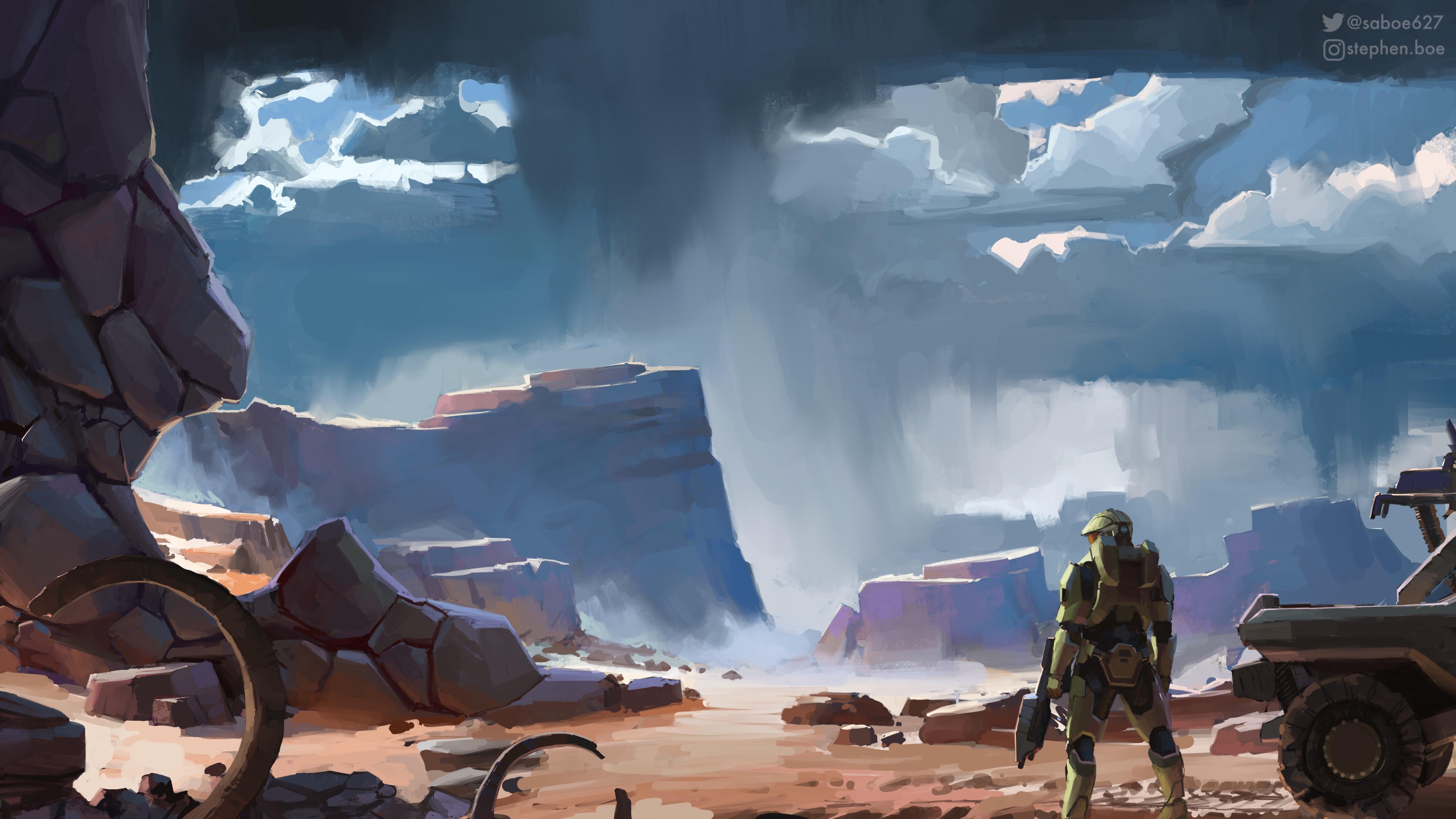 Halo Infinite Digital Art 5k, HD Games, 4k Wallpapers ...