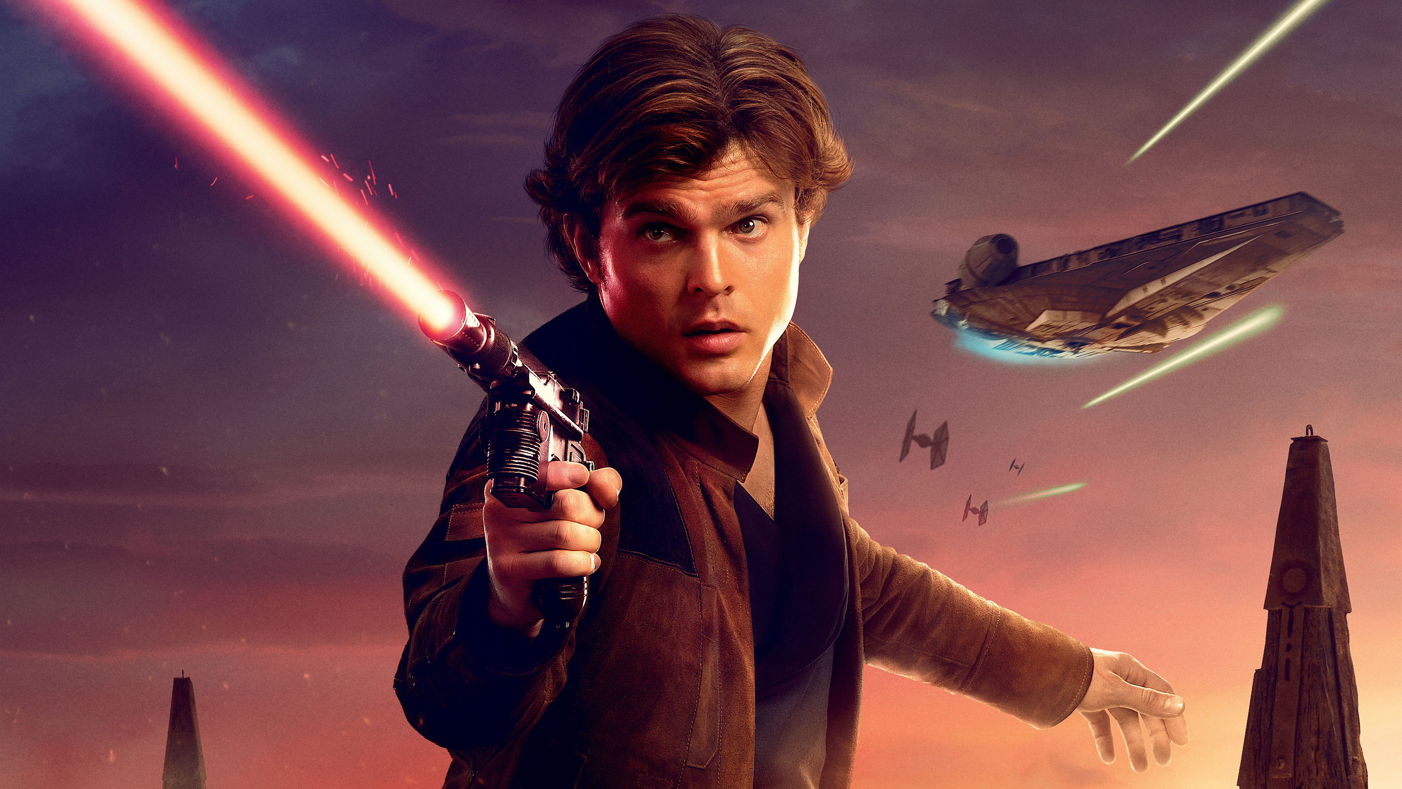 Han Solo In Solo A Star Wars Story Movie 5K, Hd Movies, 4K -2371