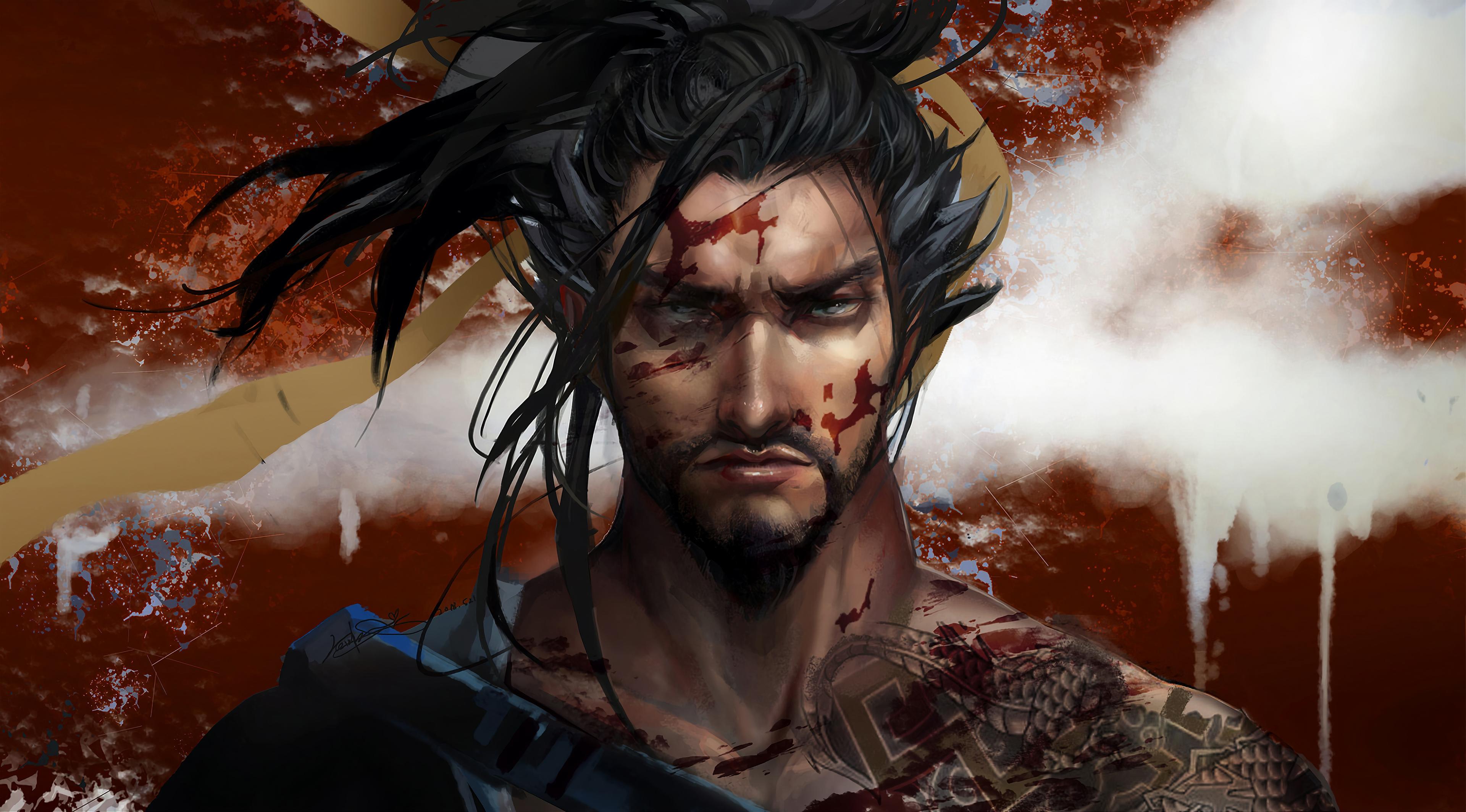 Hanzo Overwatch Art 4k, HD Games, 4k Wallpapers, Images ...