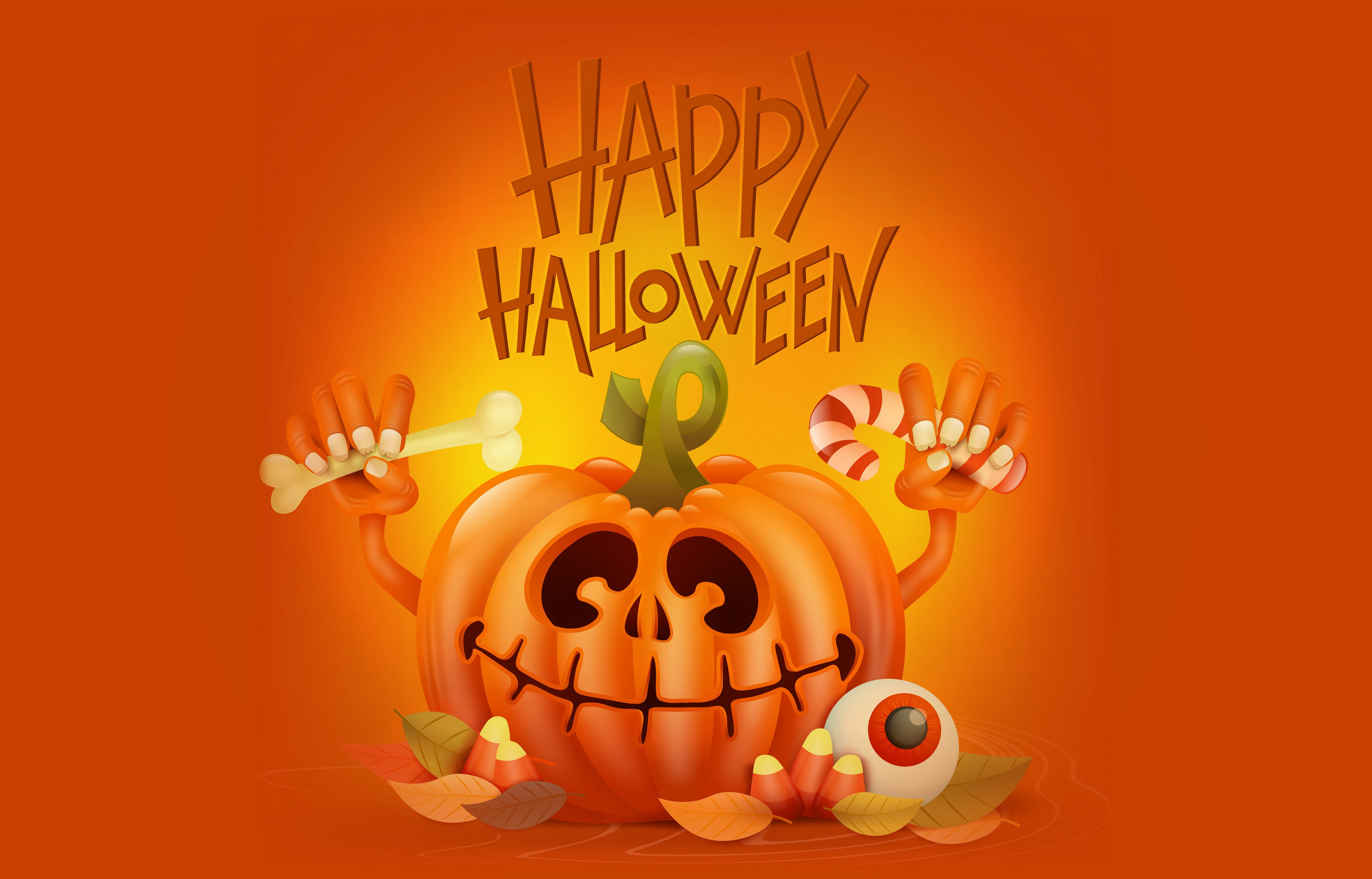 Happy halloween 4k hd celebrations 4k wallpapers images backgrounds photos and pictures - Funny happy halloween wallpaper ...