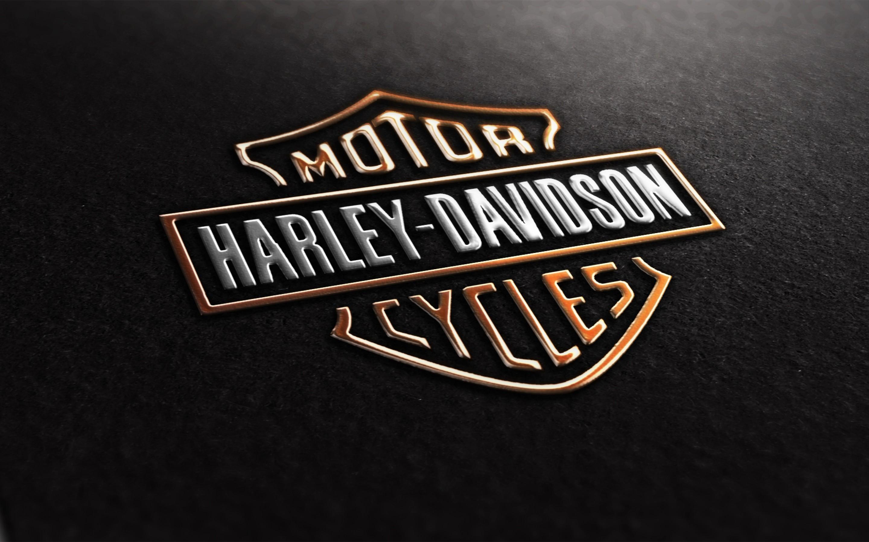 Harley Davidson Logo Wallpaper: Harley Davidson Logo, HD Logo, 4k Wallpapers, Images