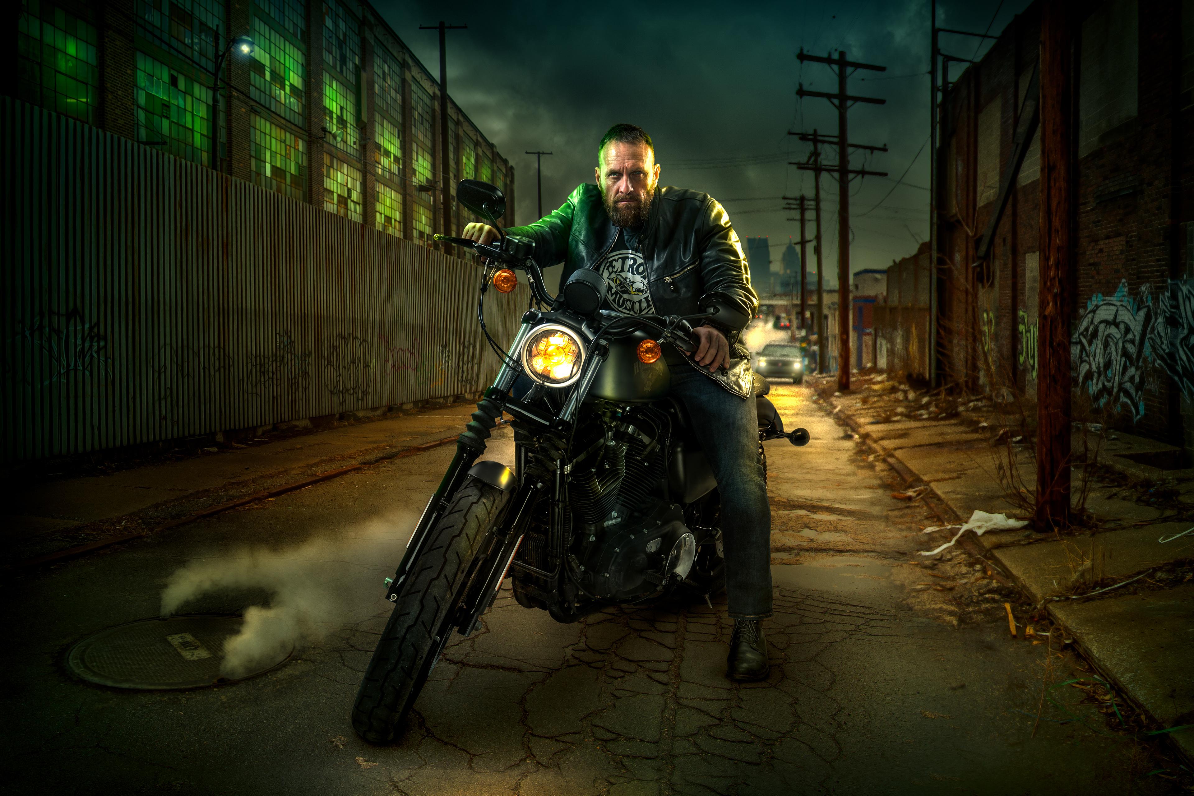 1080x1920 Harley Davidson Night Rider Iphone 7,6s,6 Plus