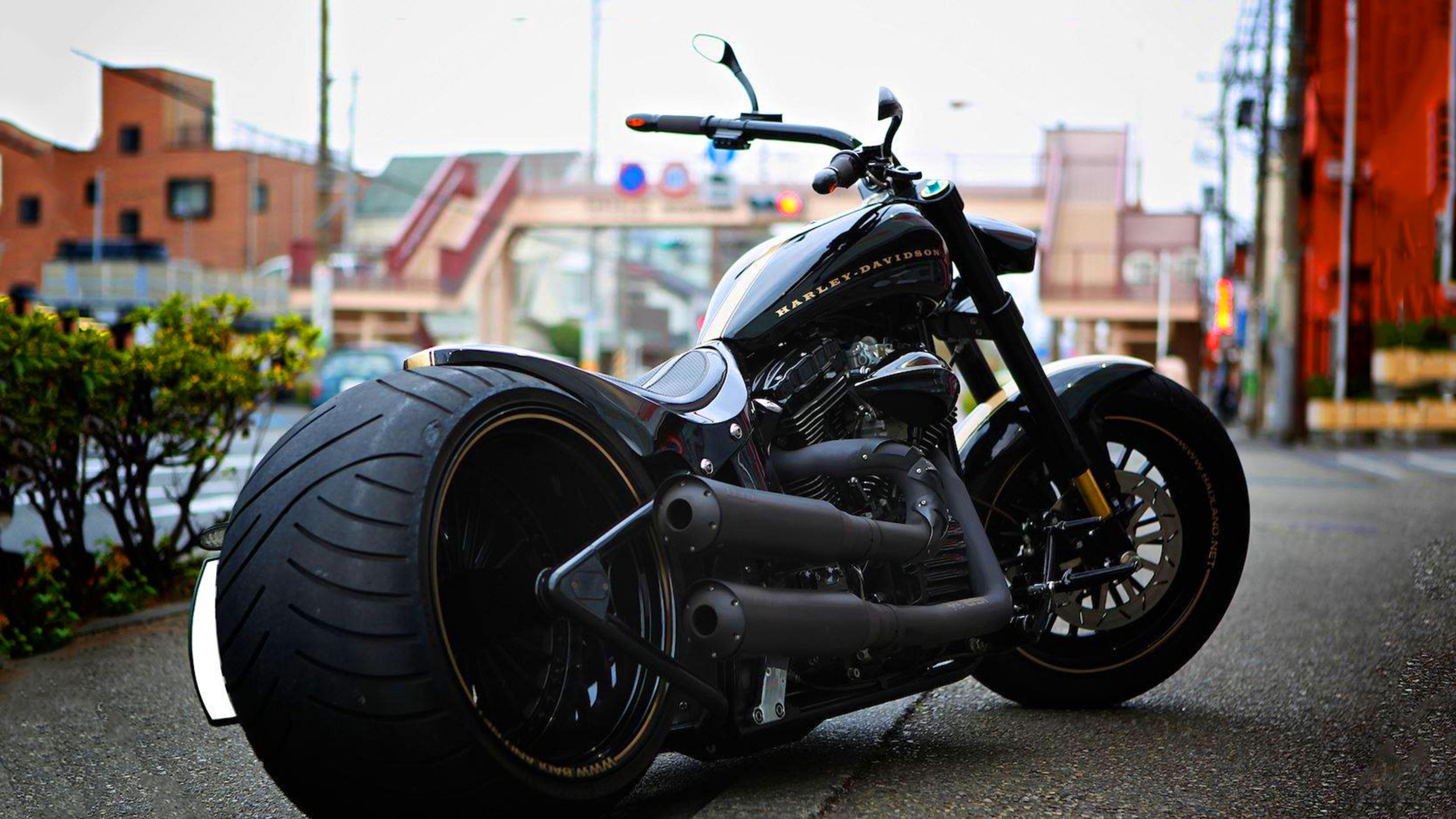 Harley Davidson Vintage Hd Bikes 4k Wallpapers Images