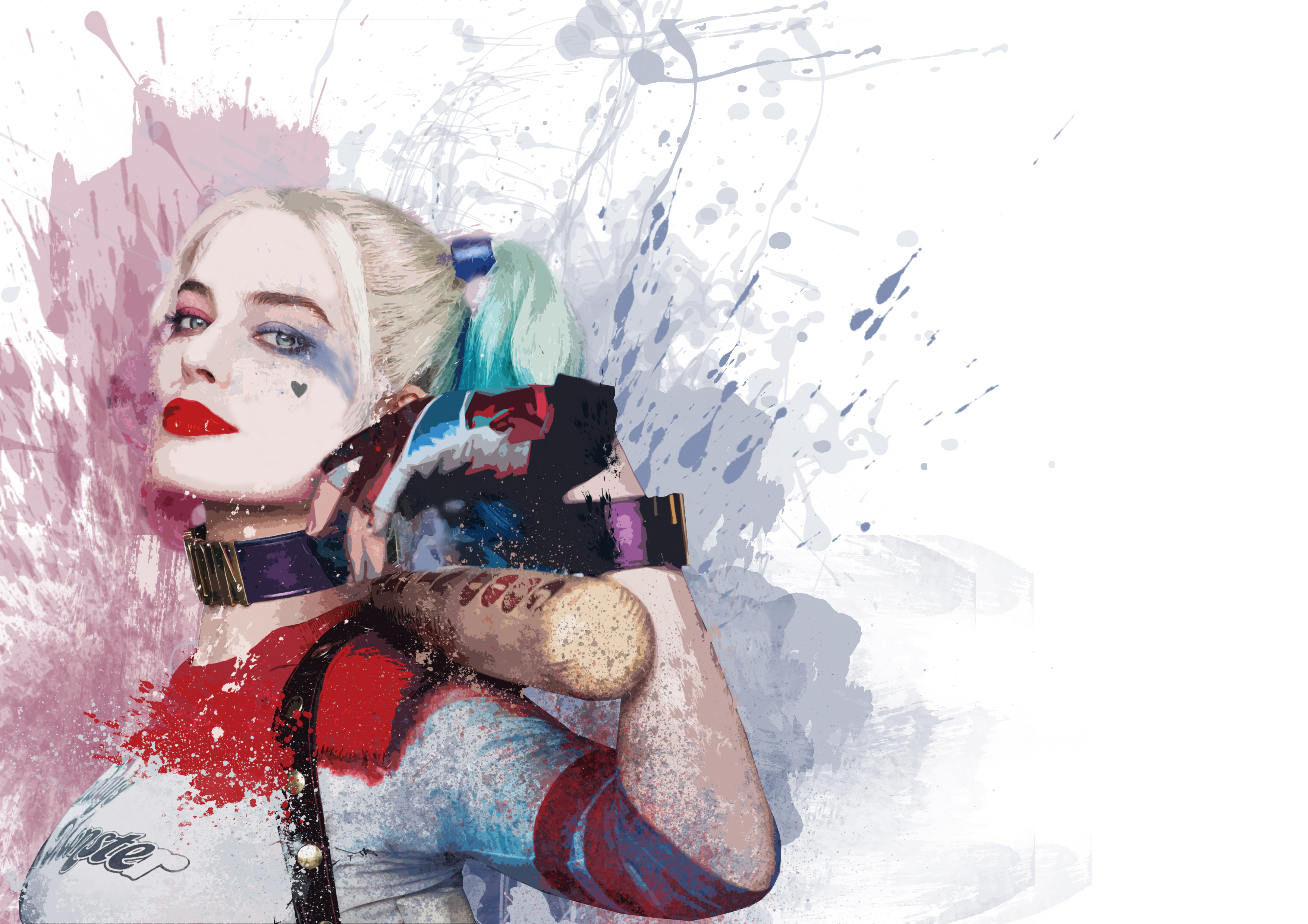 Harley quinn 4k art hd superheroes 4k wallpapers images - Harley quinn hd wallpapers for android ...