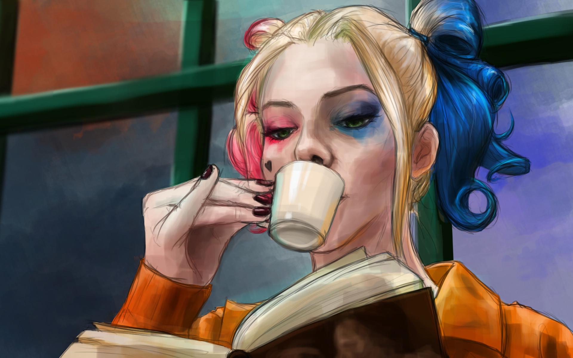 Simple Wallpaper Movie Harley Quinn - harley-quinn-art-image  Collection_419387.jpg