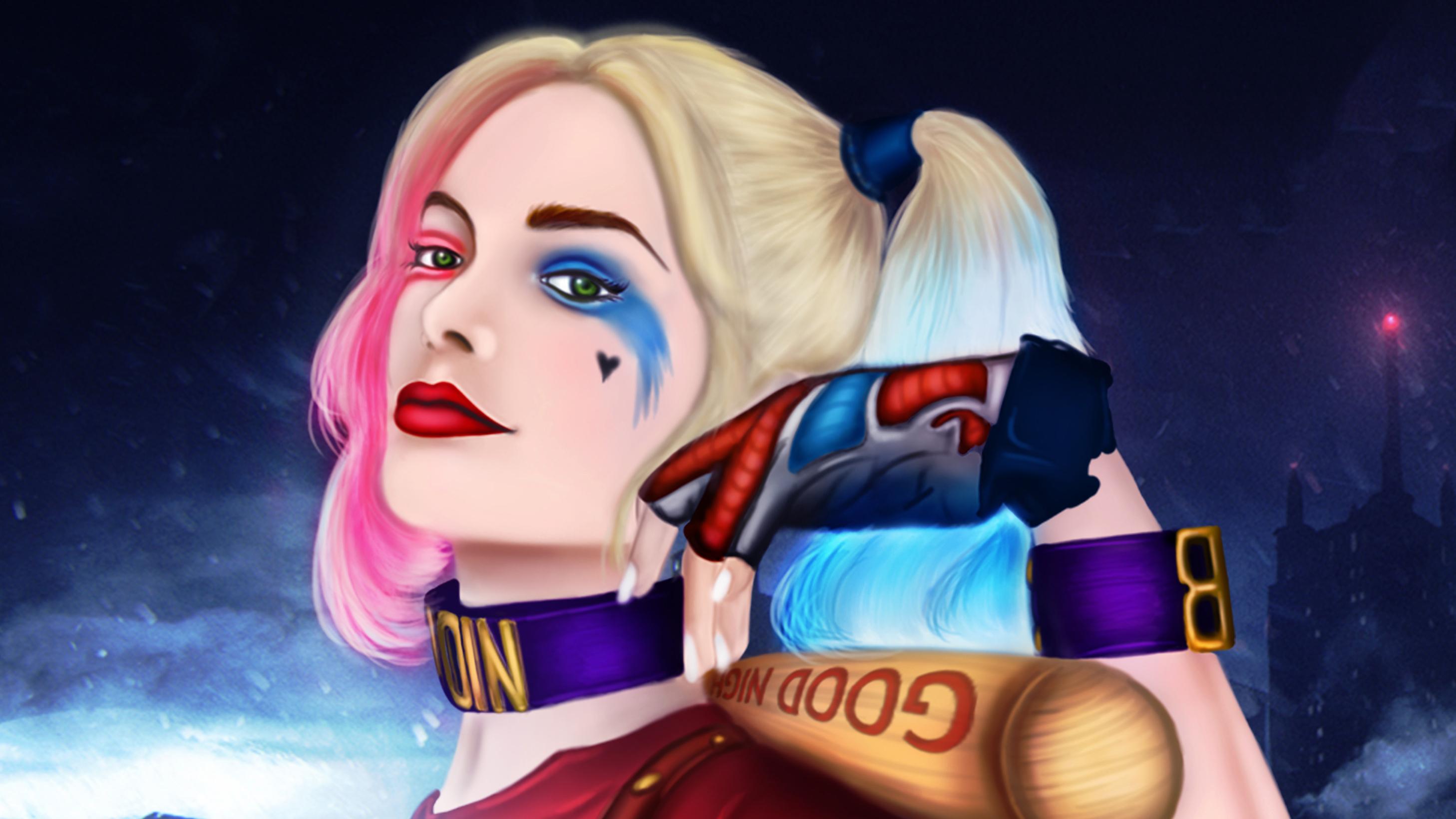 Harley Quinn 4k Hd Wallpapers: Harley Quinn Artwork 4k, HD Superheroes, 4k Wallpapers