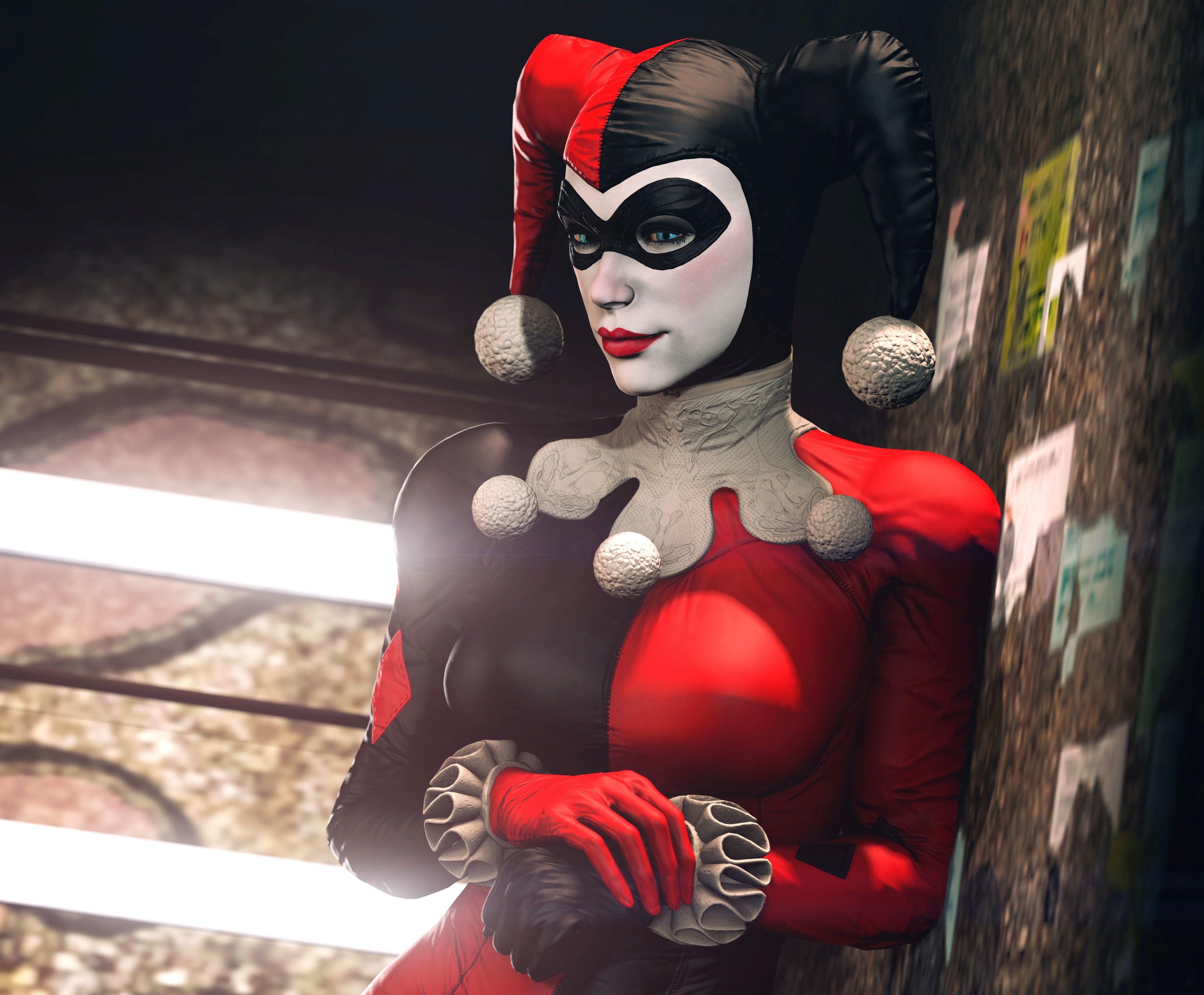 Harley Quinn Batman Arkham Night, HD Games, 4k Wallpapers