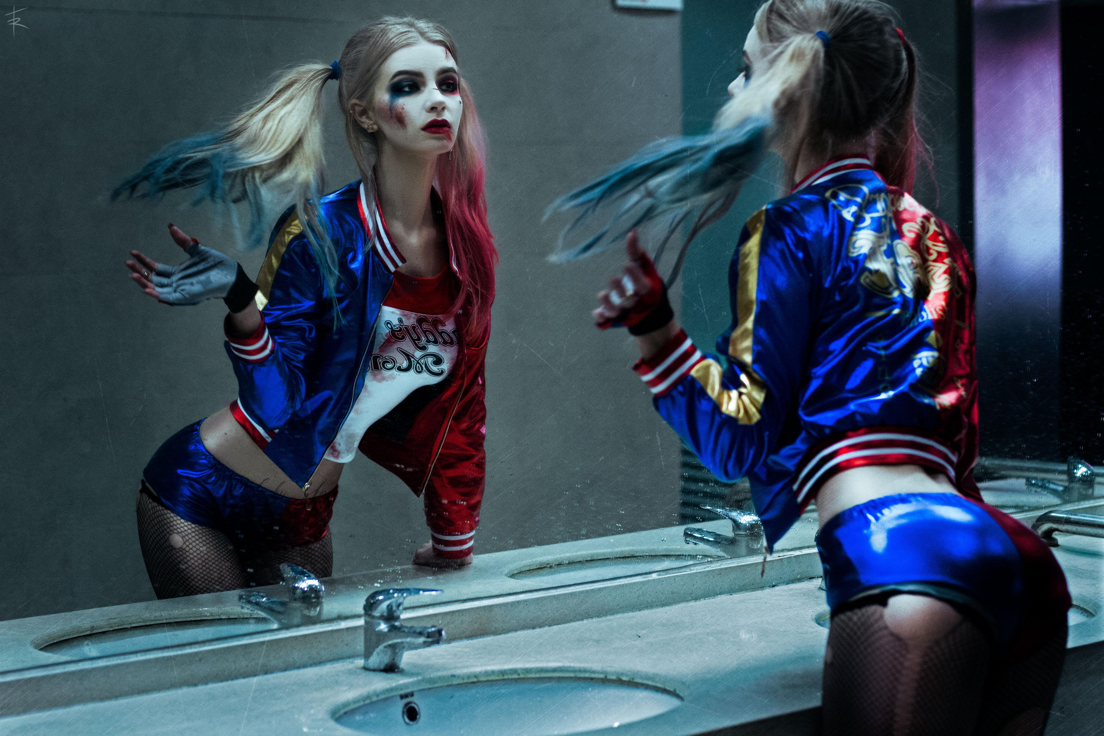 Harley Quinn 4k Hd Wallpapers: Harley Quinn Cosplay 4k, HD Superheroes, 4k Wallpapers