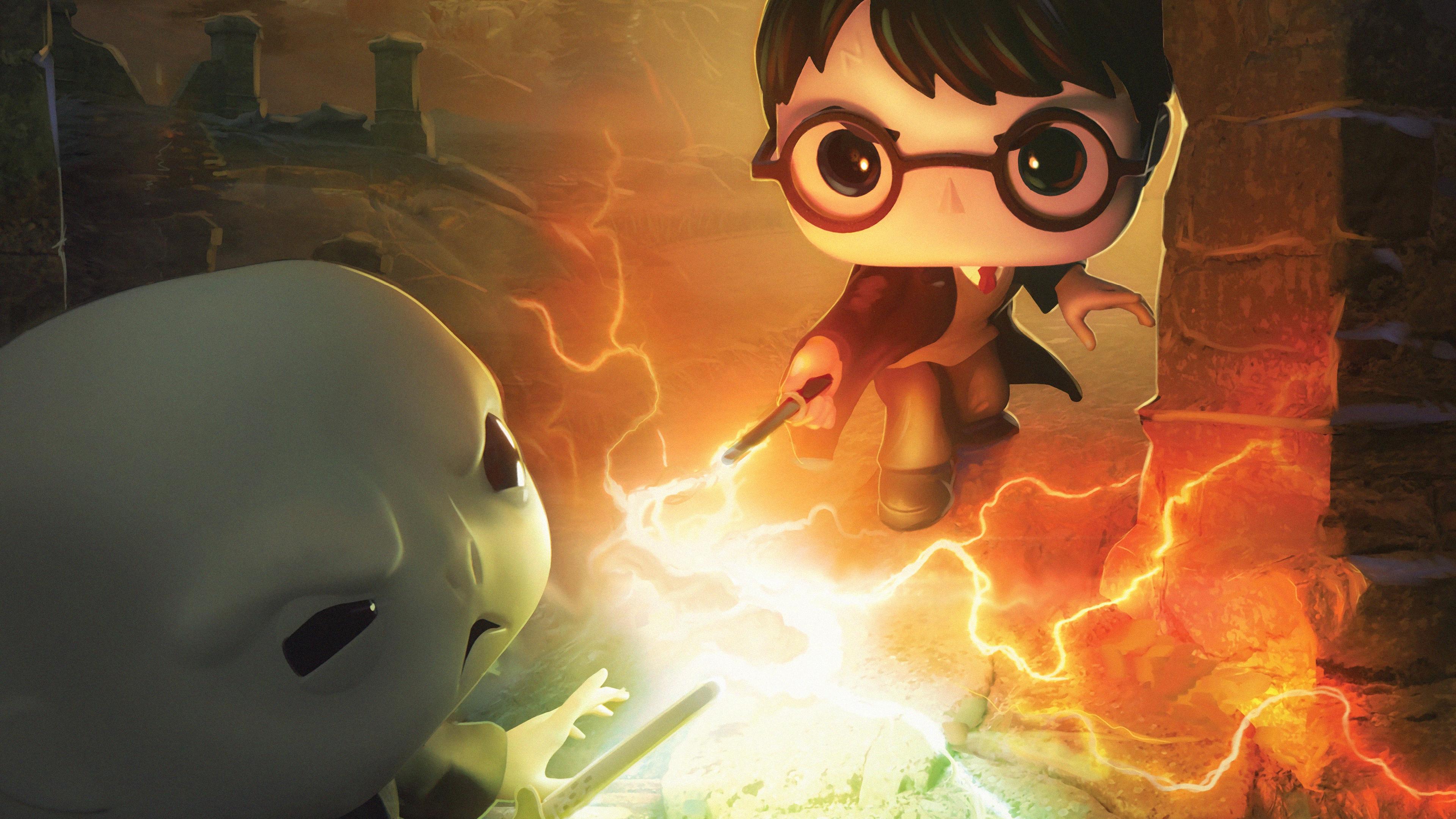 Harry Potter Dc Funkoverse 4k Hd Games 4k Wallpapers