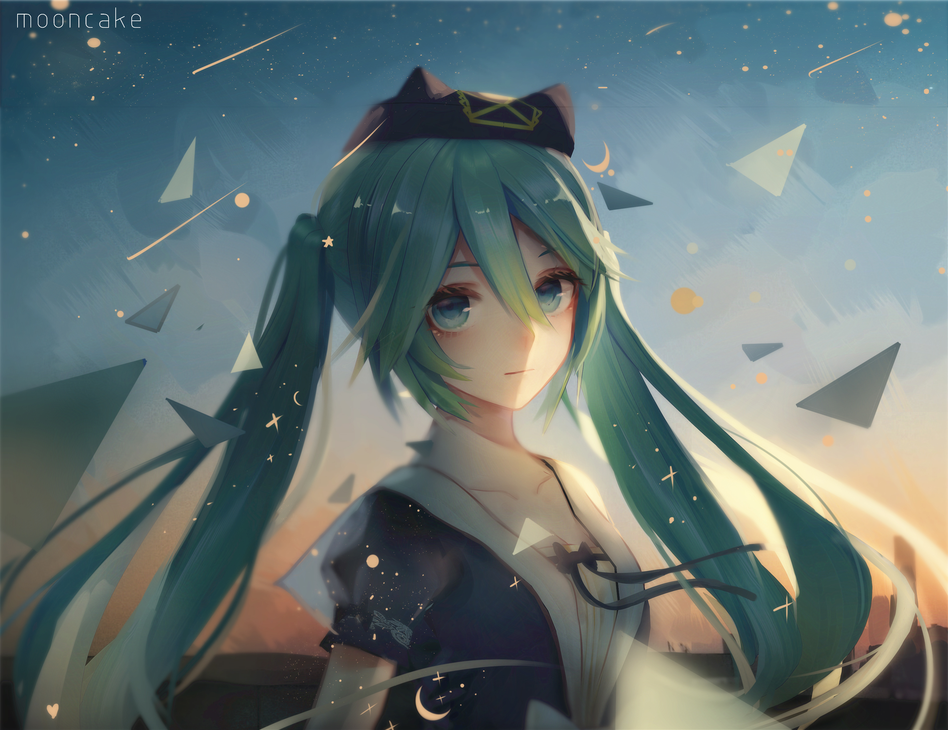 Hatsune Miku Vocaloid Anime 4k, HD Anime, 4k Wallpapers ...