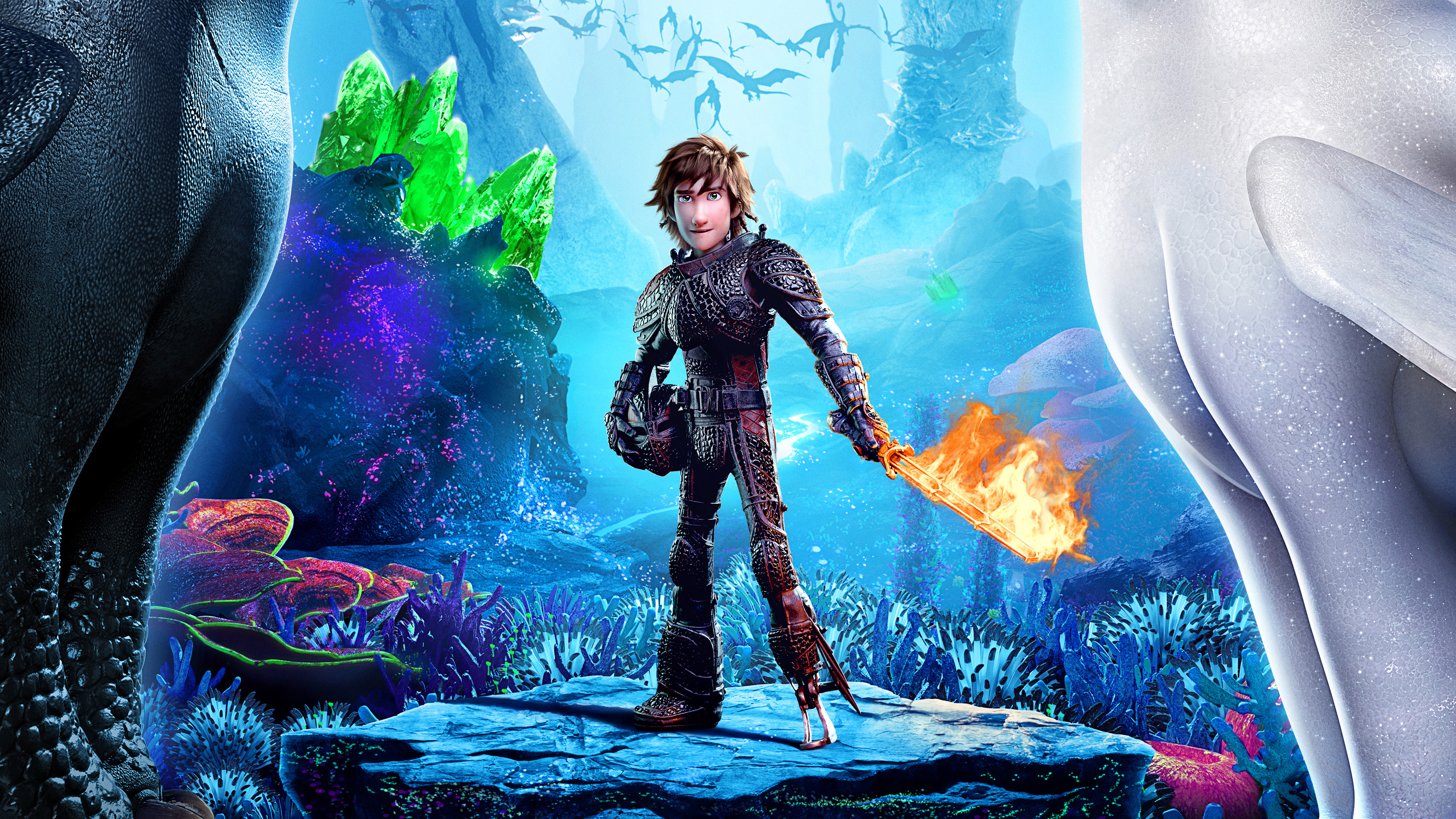 2048x2048 Hiccup How To Train Your Dragon 3 2019 4k Ipad