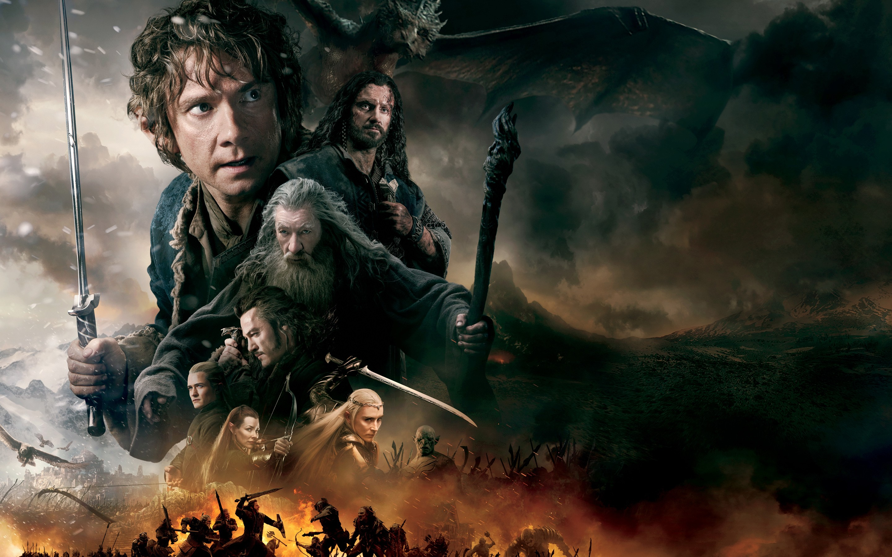 Hobbit Battle Of The Five Armies, HD Movies, 4k Wallpapers ...