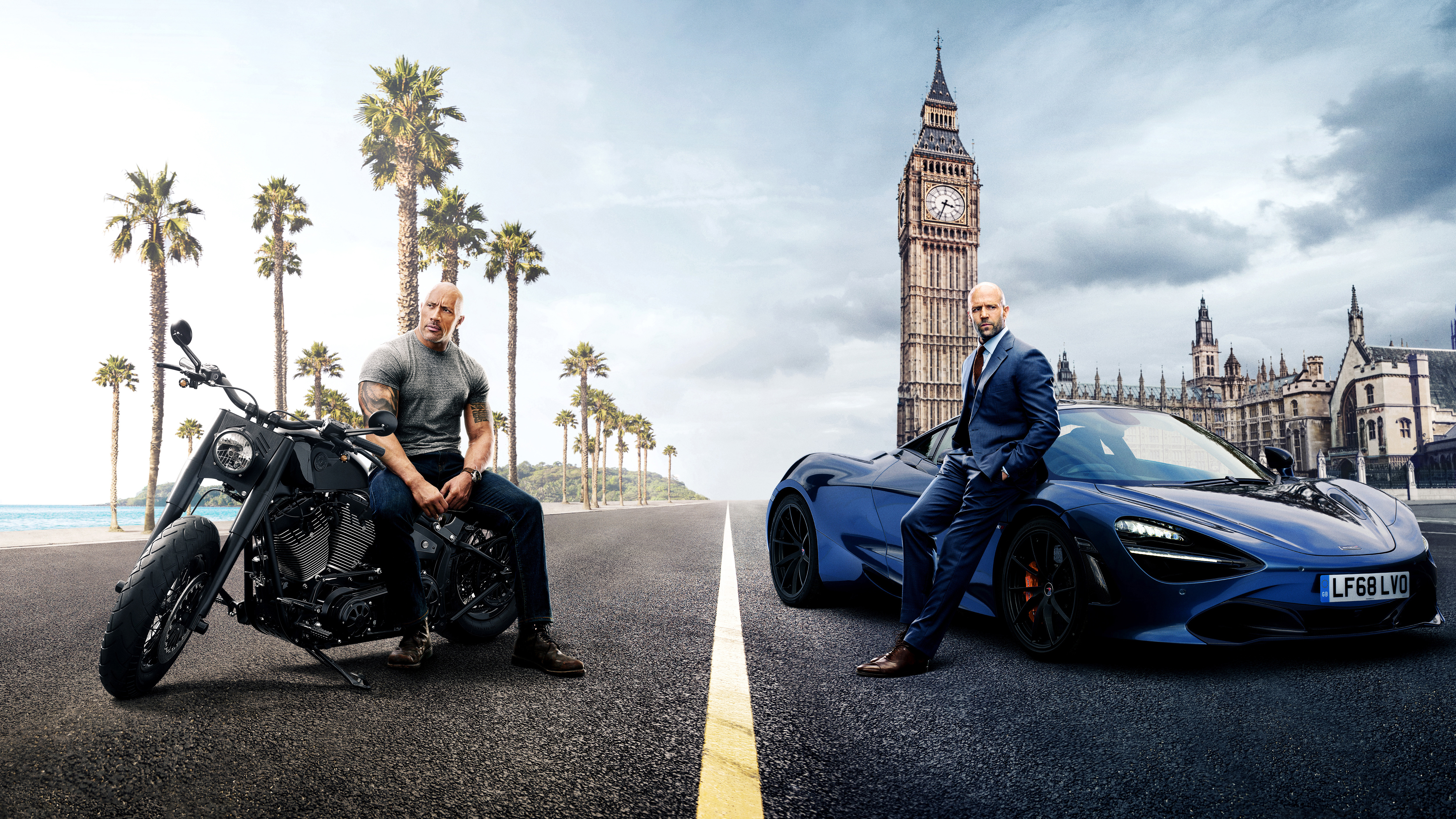 Hobbs And Shaw 5k Poster Hd Movies 4k Wallpapers Images