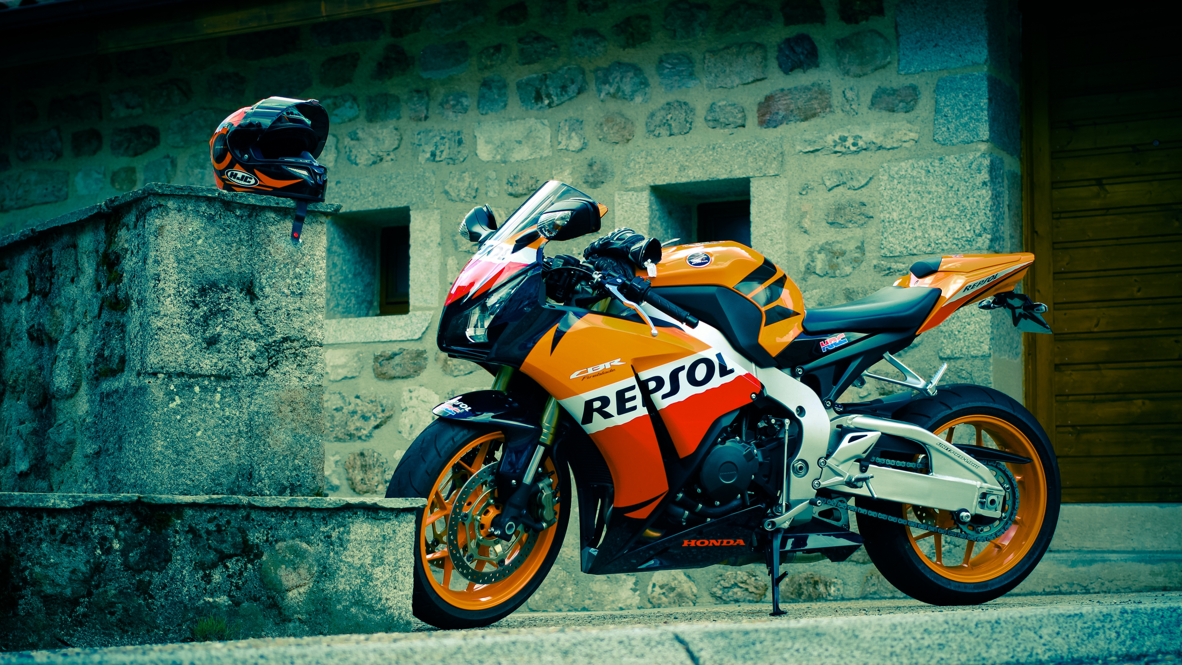 Honda Cbr Repsol HD Bikes 4k Wallpapers Images Backgrounds
