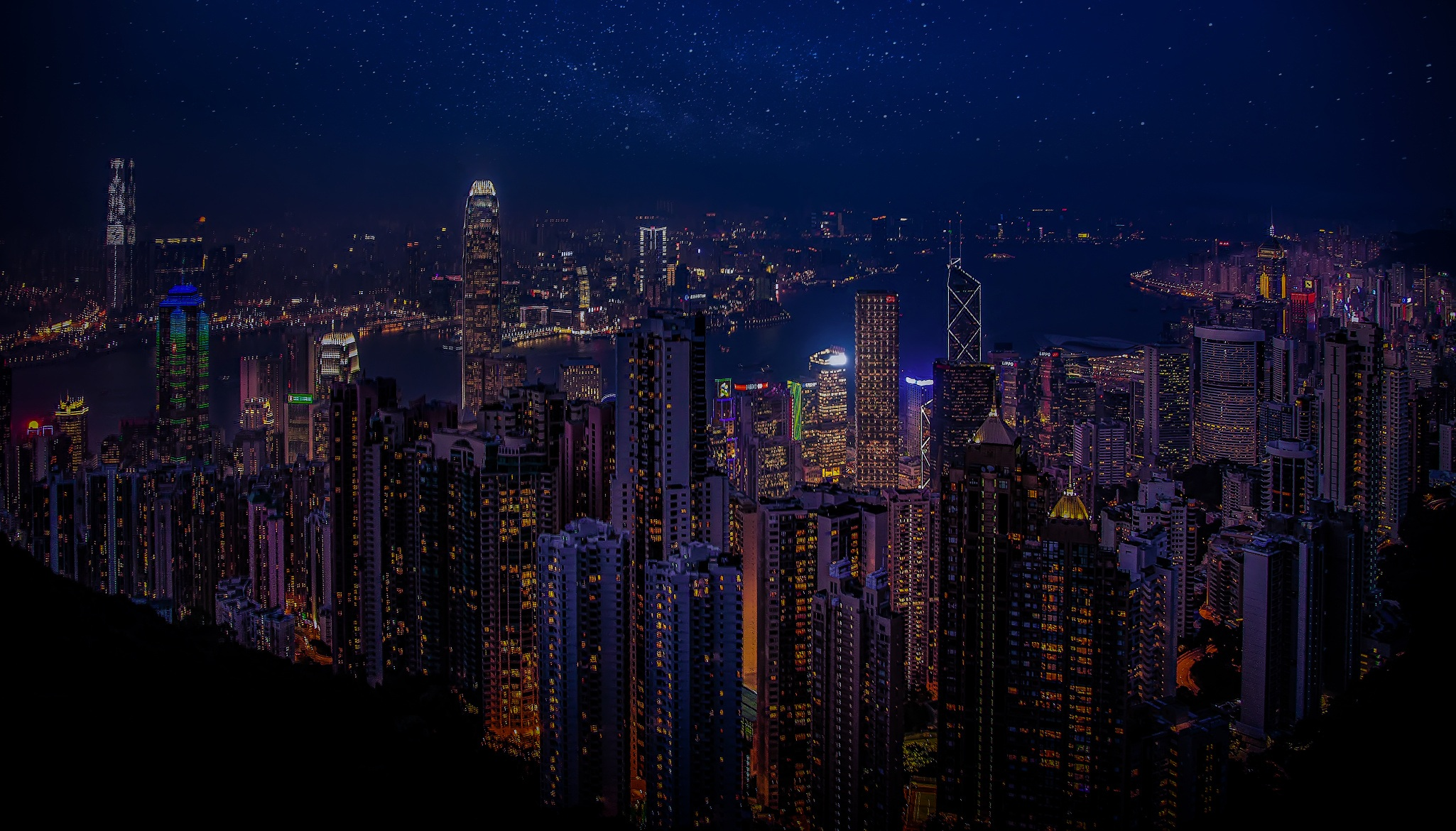 Hong Kong China Skycrappers, HD World, 4k Wallpapers, Images, Backgrounds, Photos and Pictures