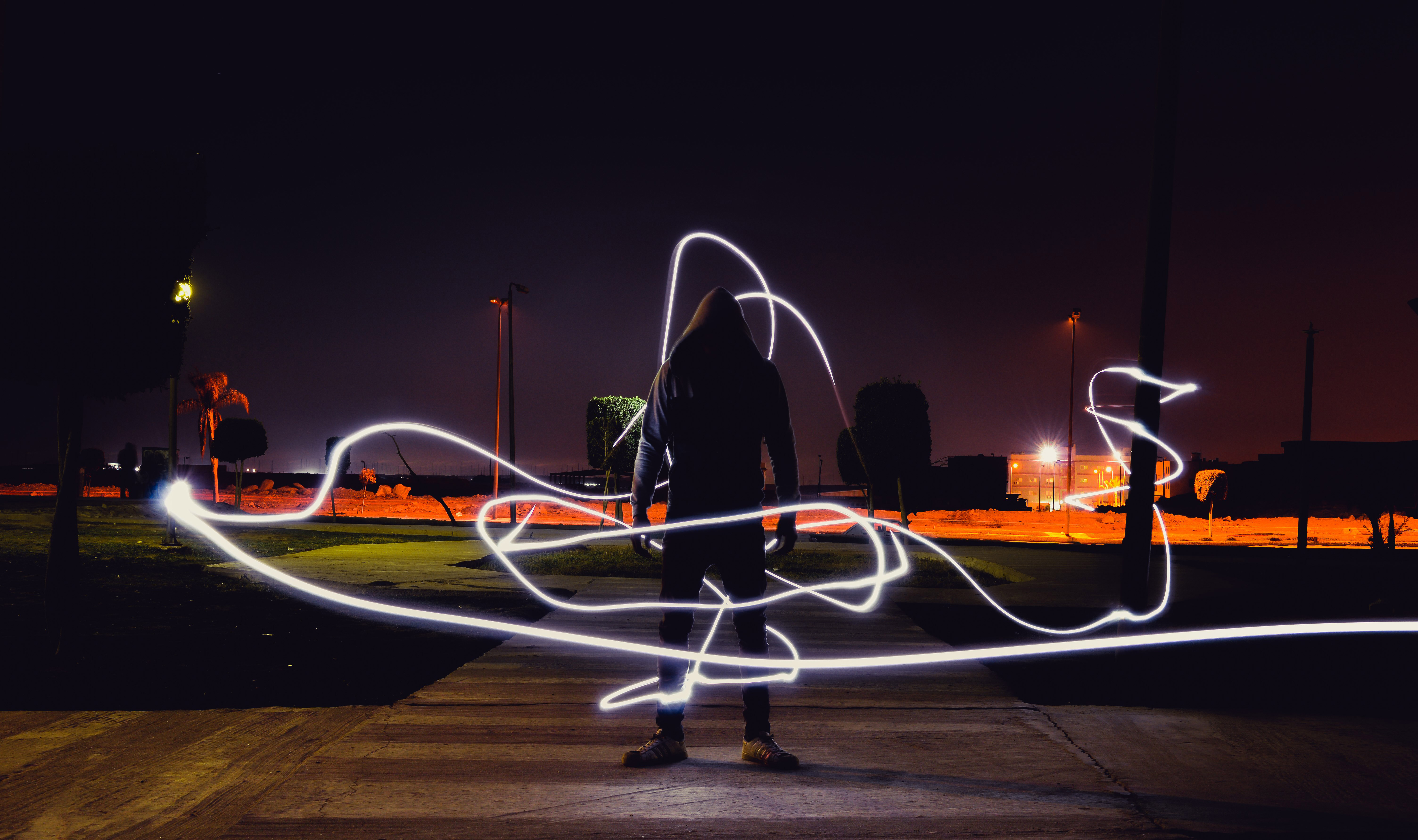 Hoodie Boy Light Timelapse Hd Photography 4k Wallpapers