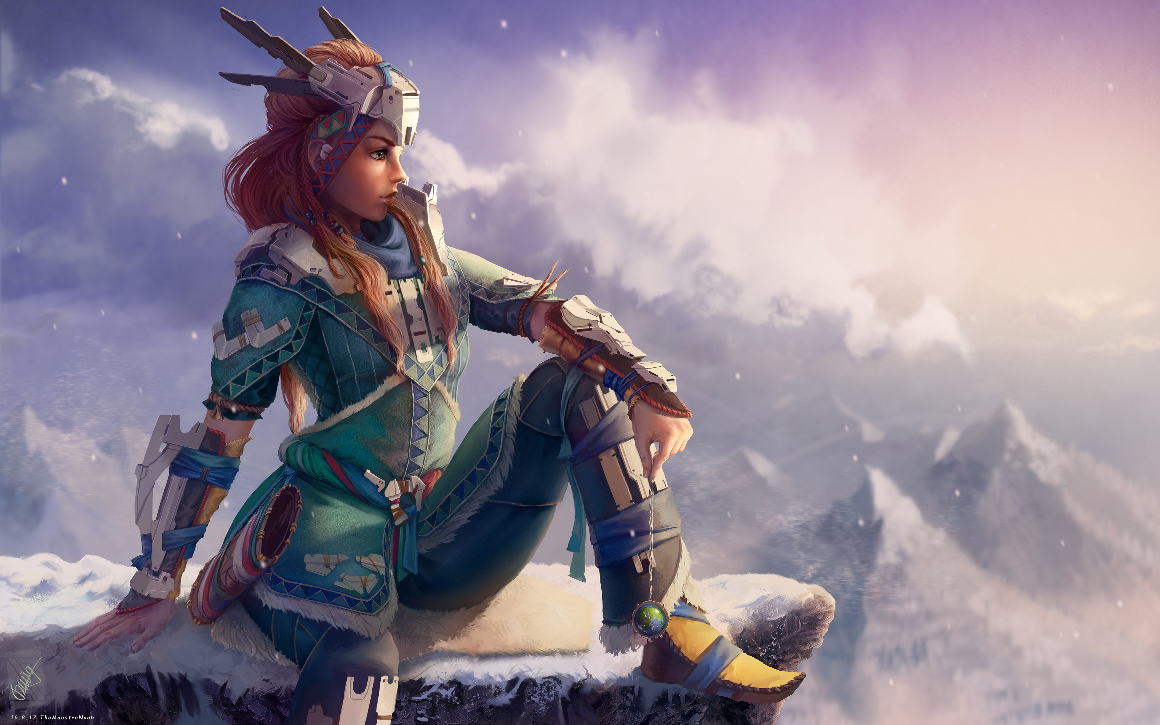 Horizon zero dawn aloy artwork hd games 4k wallpapers - Horizon zero dawn android wallpaper ...