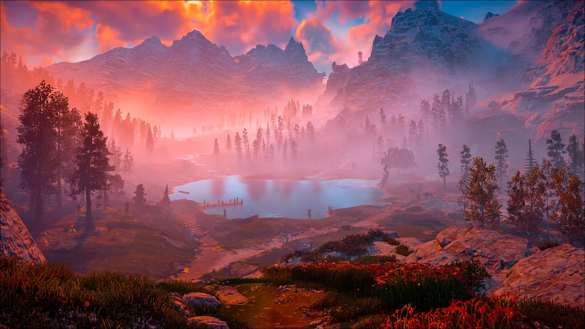 Horizon Zero Dawn Desktop Background: Horizon Zero Dawn Game Nature, HD Games, 4k Wallpapers