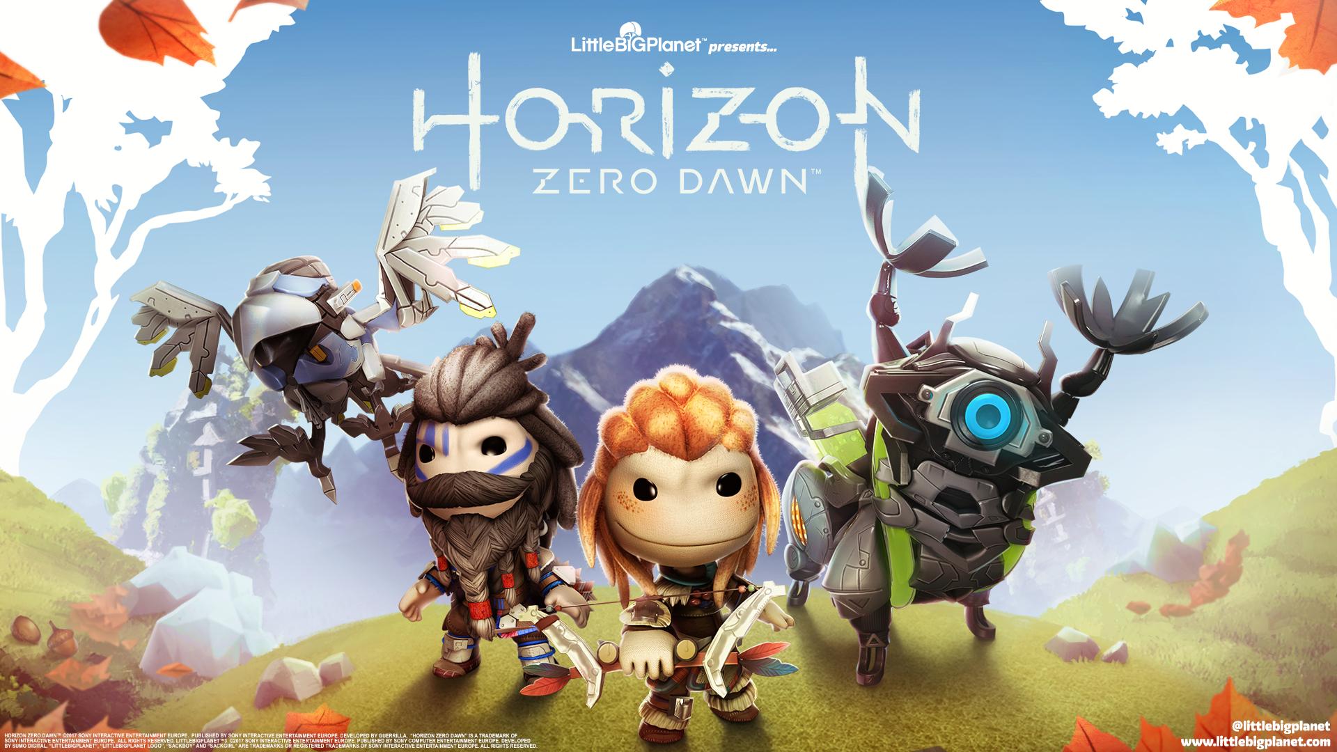 1400x1050 Horizon Zero Dawn Little Big Planet 3 1400x1050