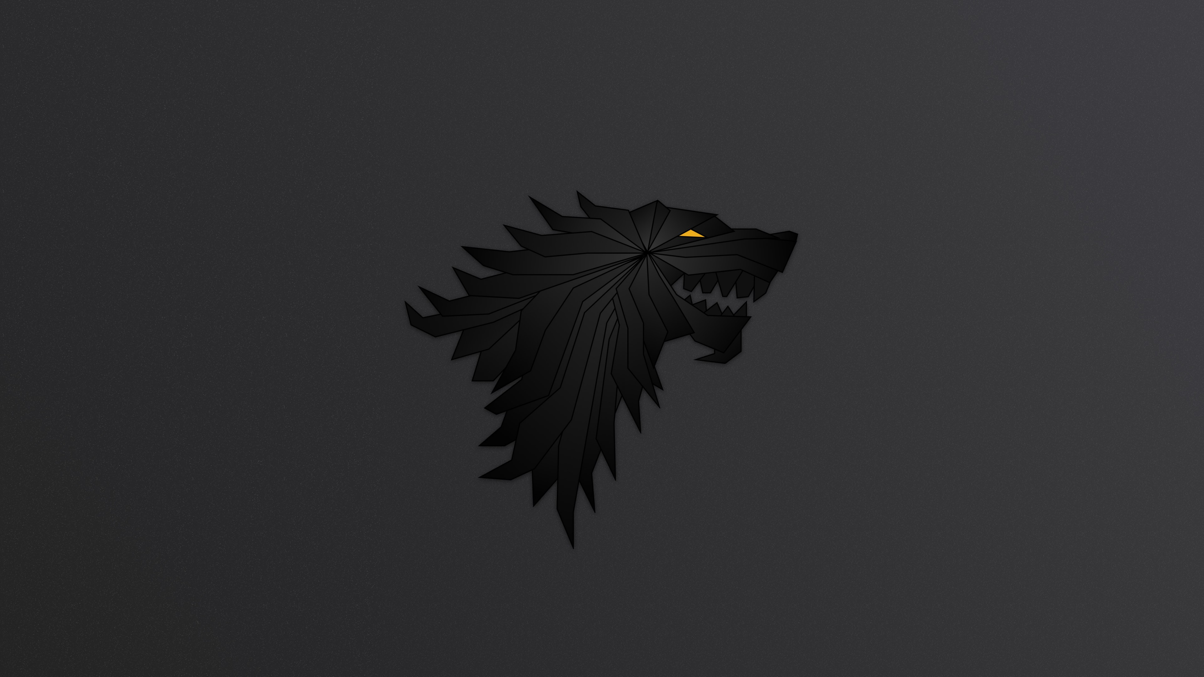 Game Of Thrones Minimalist Wallpaper: House Stark Game Of Thrones Minimalism, HD Tv Shows, 4k