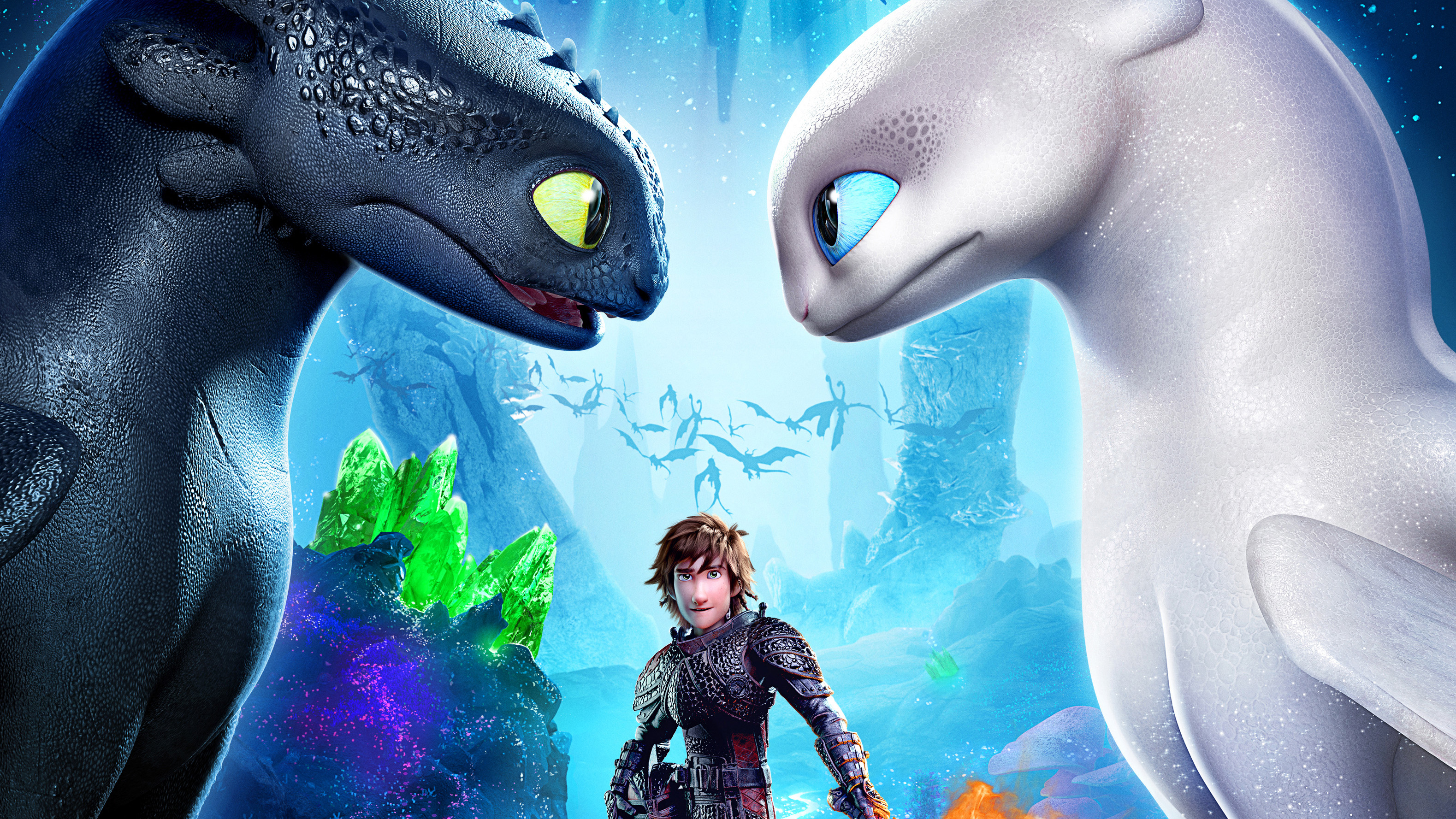 How To Train Your Dragon The Hidden World Movie Poster Hd