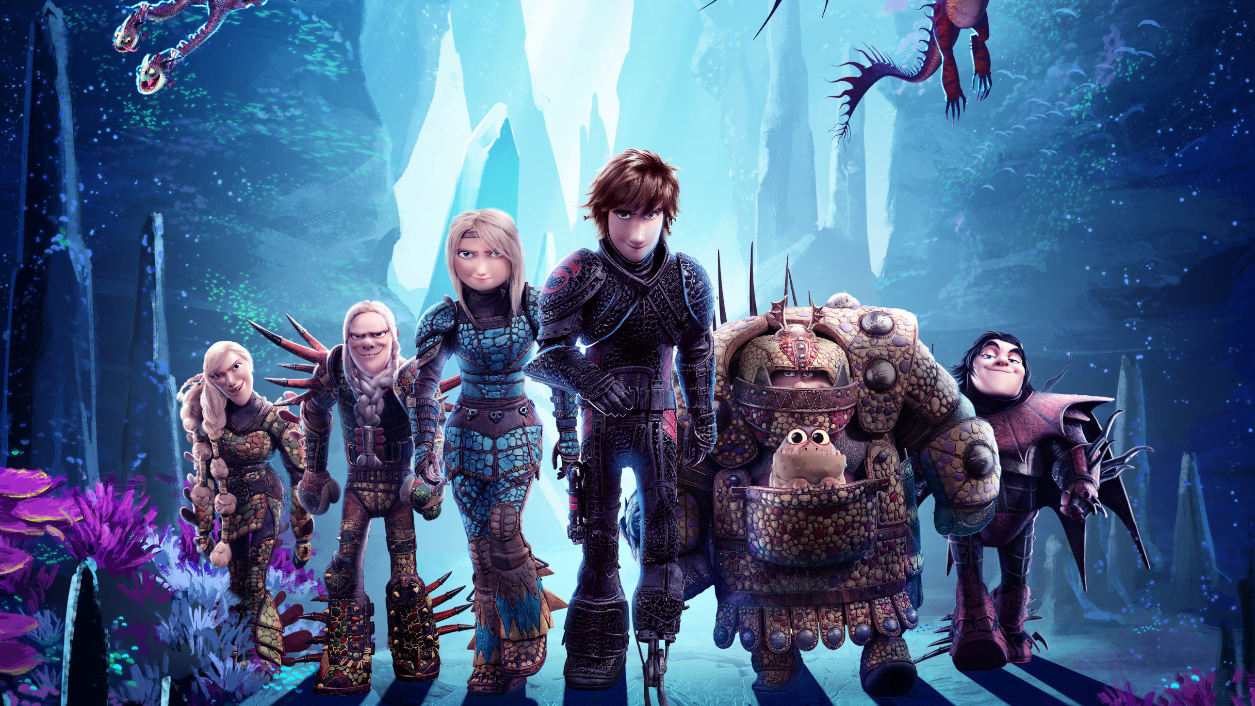How To Train Your Dragon The Hidden World New Poster, HD ...