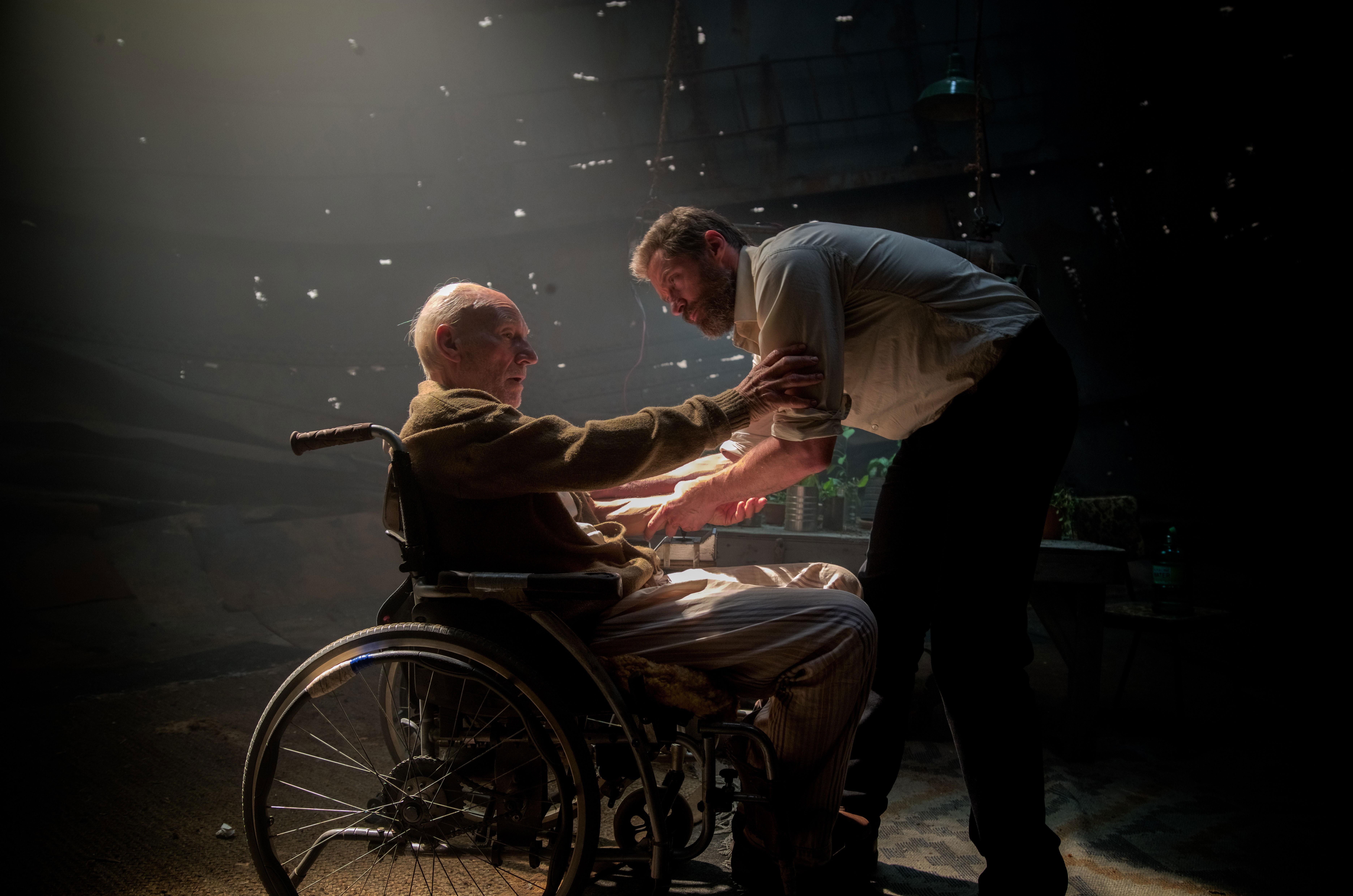 Hugh Jackman Wallpapers Hd: Hugh Jackman And Professor X, HD Movies, 4k Wallpapers