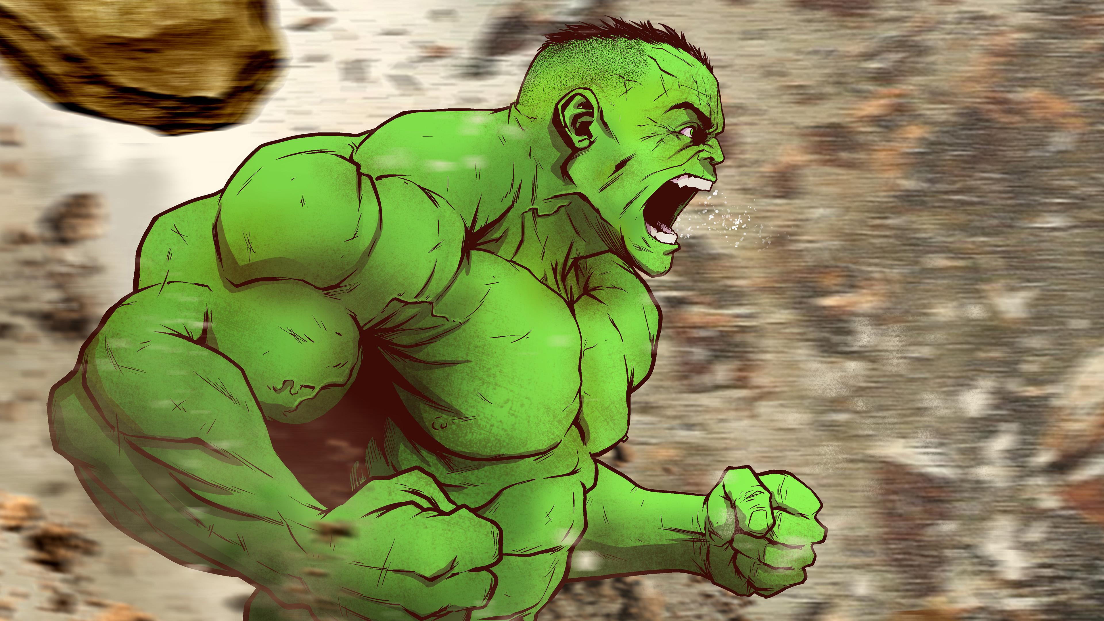2048x2048 Hulk 4k Arts Ipad Air Hd 4k Wallpapers Images