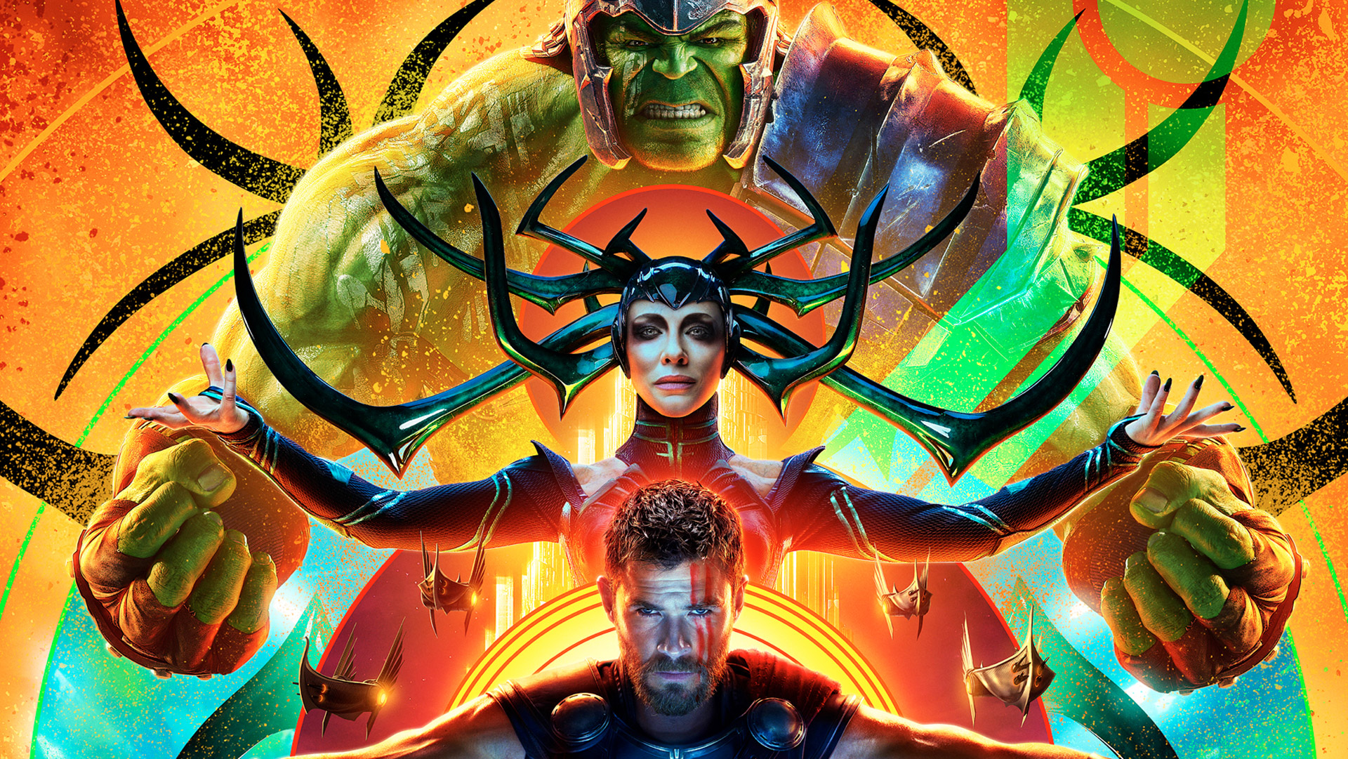 Hulk Hela Thor In Thor Ragnarok Hd Movies 4k Wallpapers Images