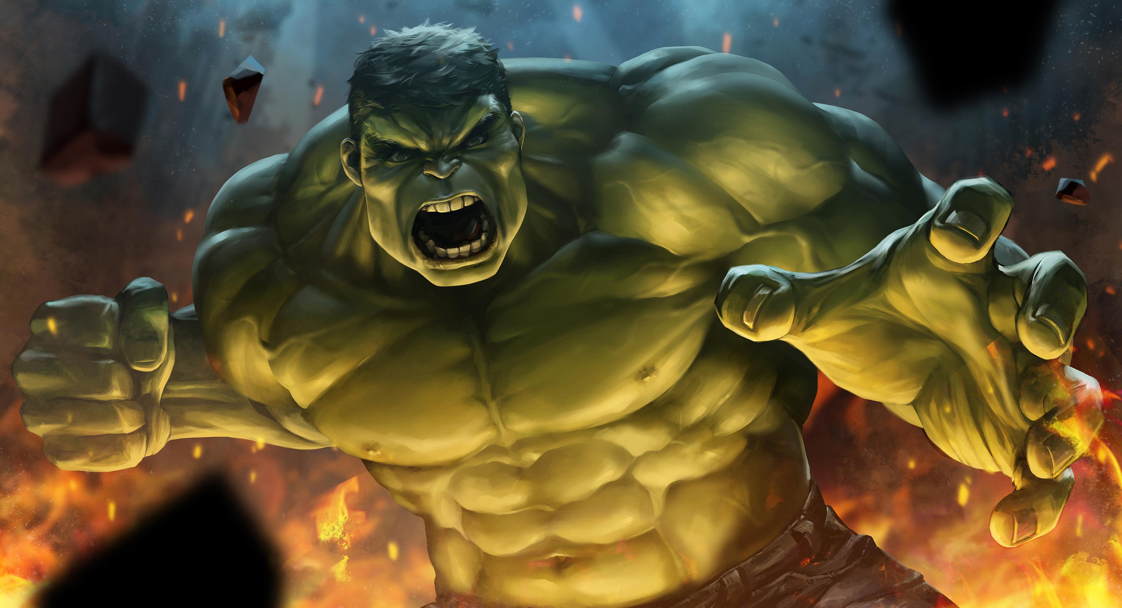 Hulk Smash Wallpaper - Wallpaperall