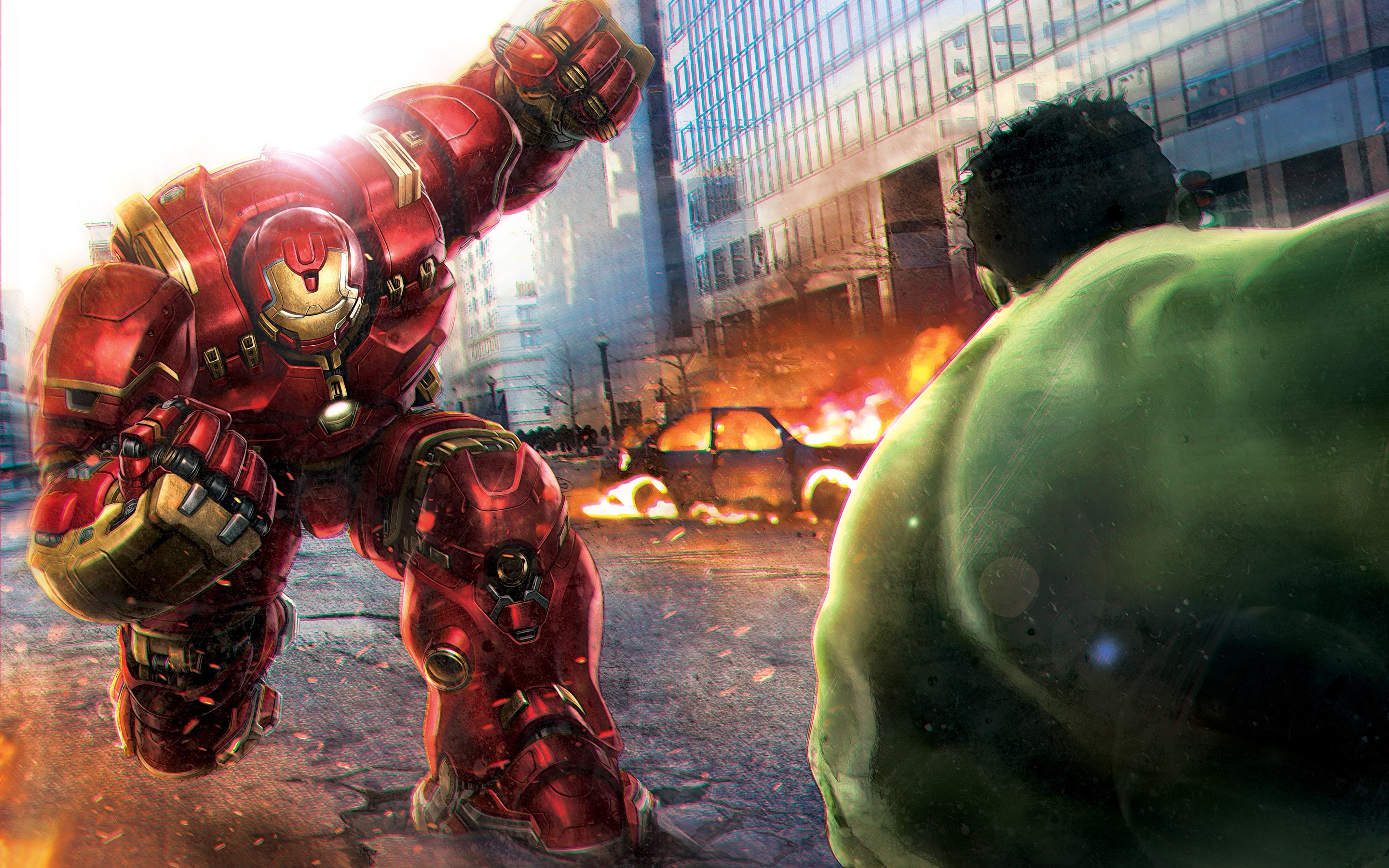 2048x1152 hulk vs hulkbuster 2048x1152 resolution hd 4k wallpapers
