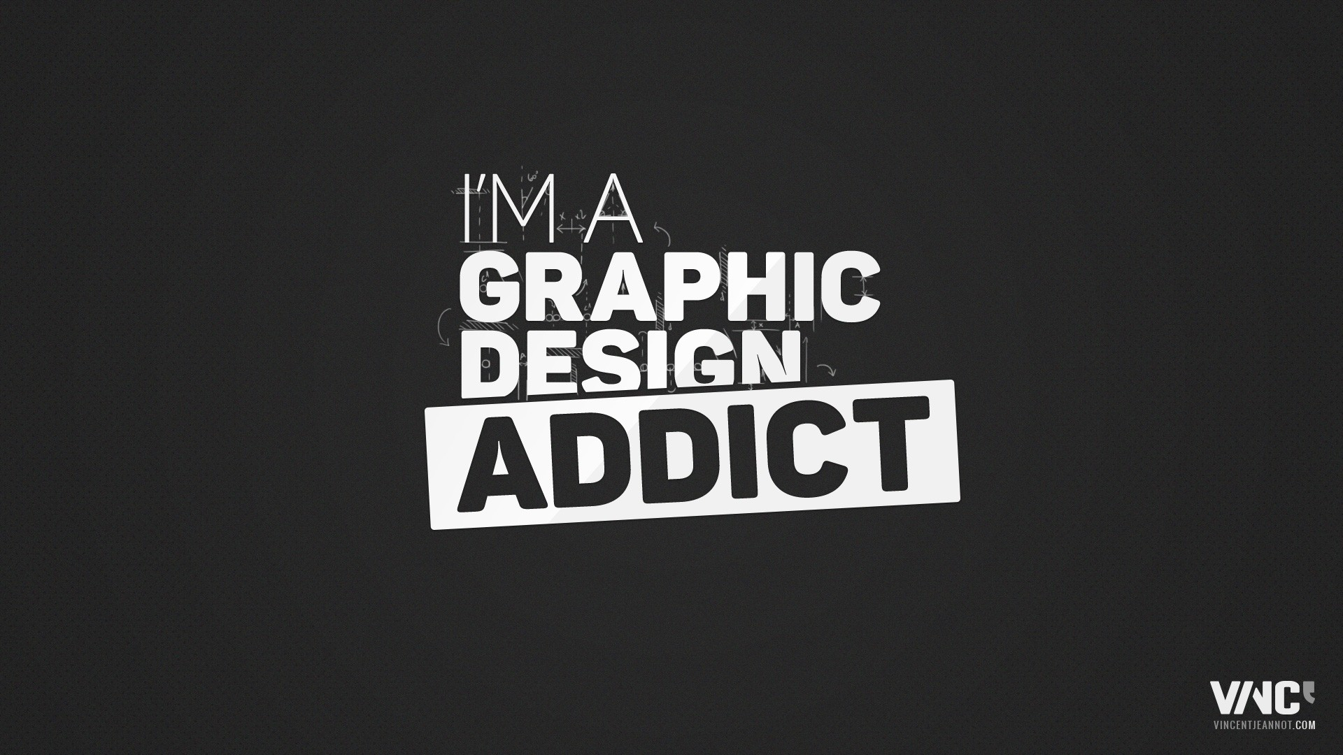 I Am A Graphic Design Addict, HD Typography, 4k Wallpapers, Images, Backgrounds, Photos and Pictures