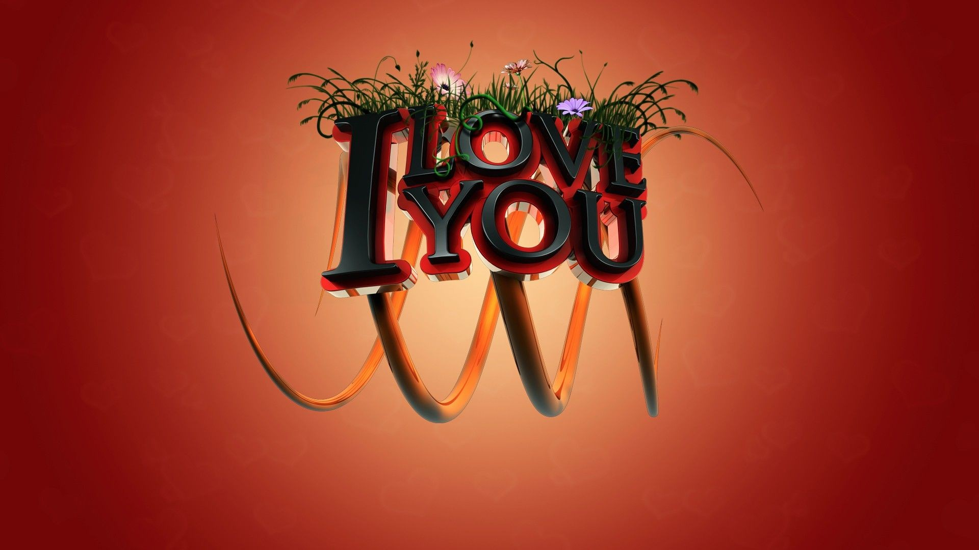 I love you typo hd typography 4k wallpapers images - I love you 4k ...