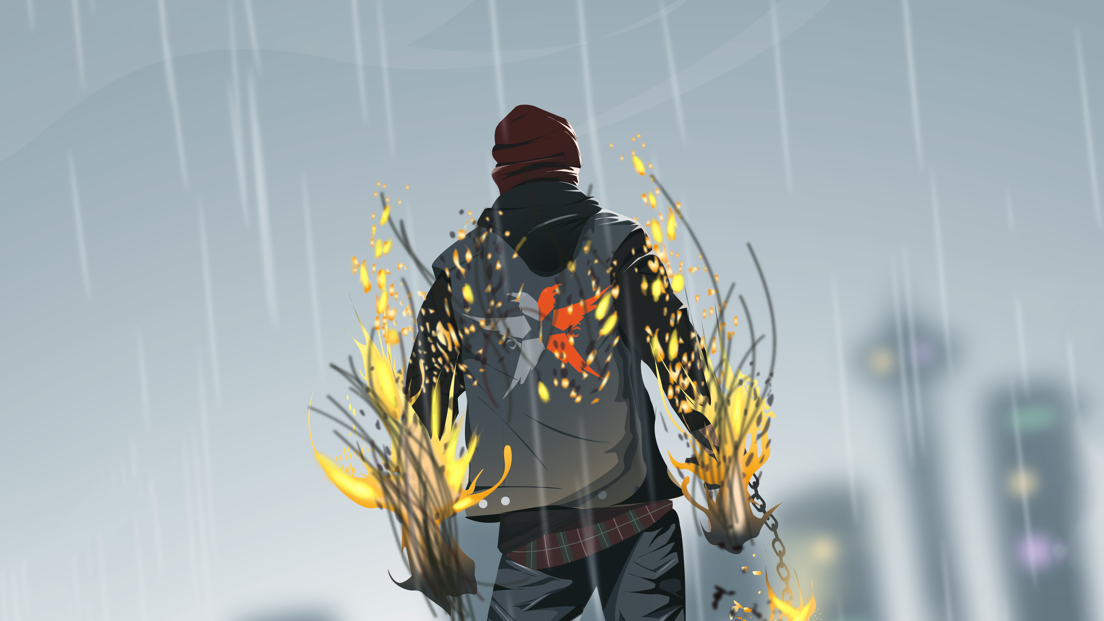 Infamous Second Son Game 4k