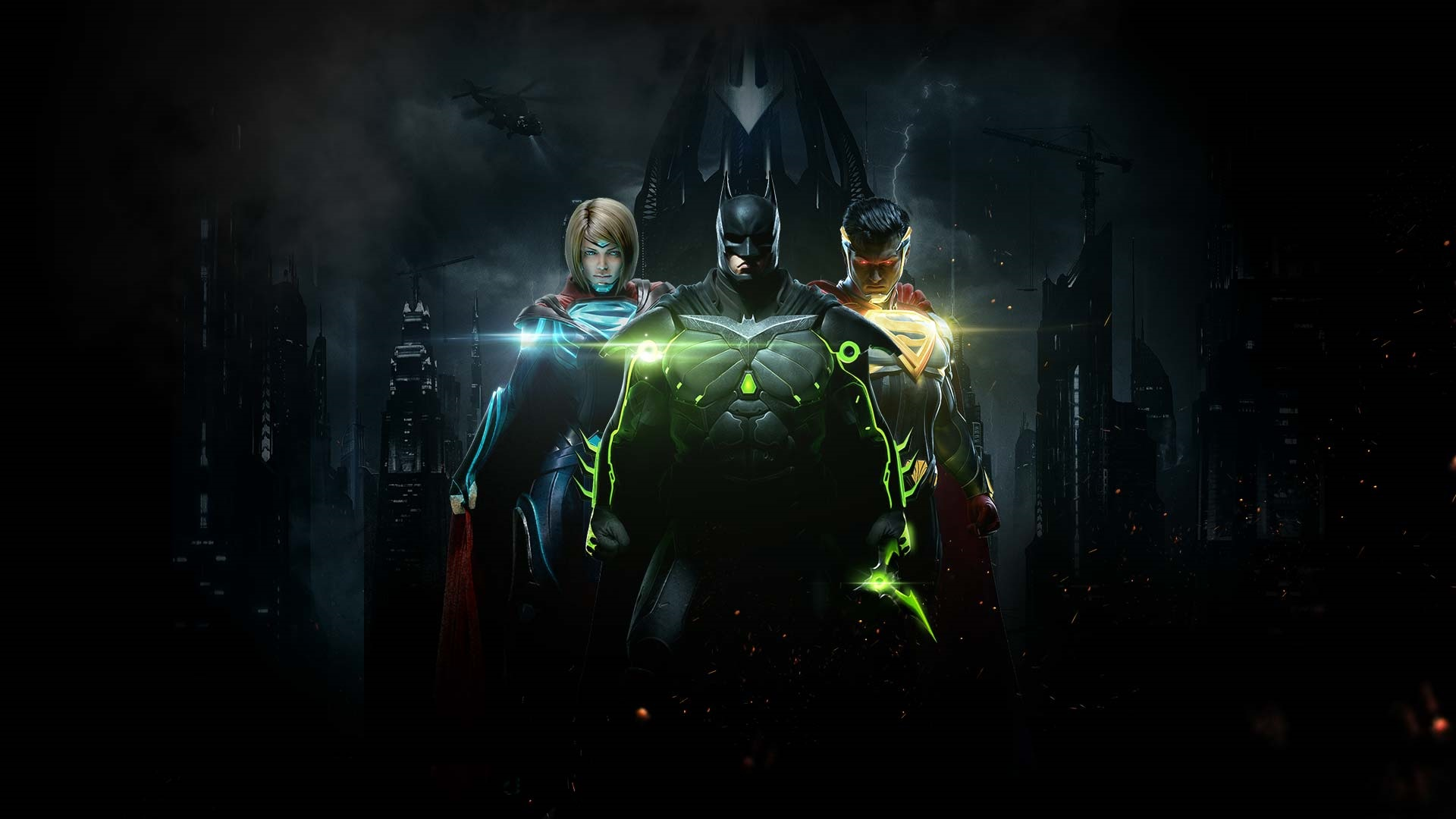 Injustice 2 Superman Hd Games 4k Wallpapers Images