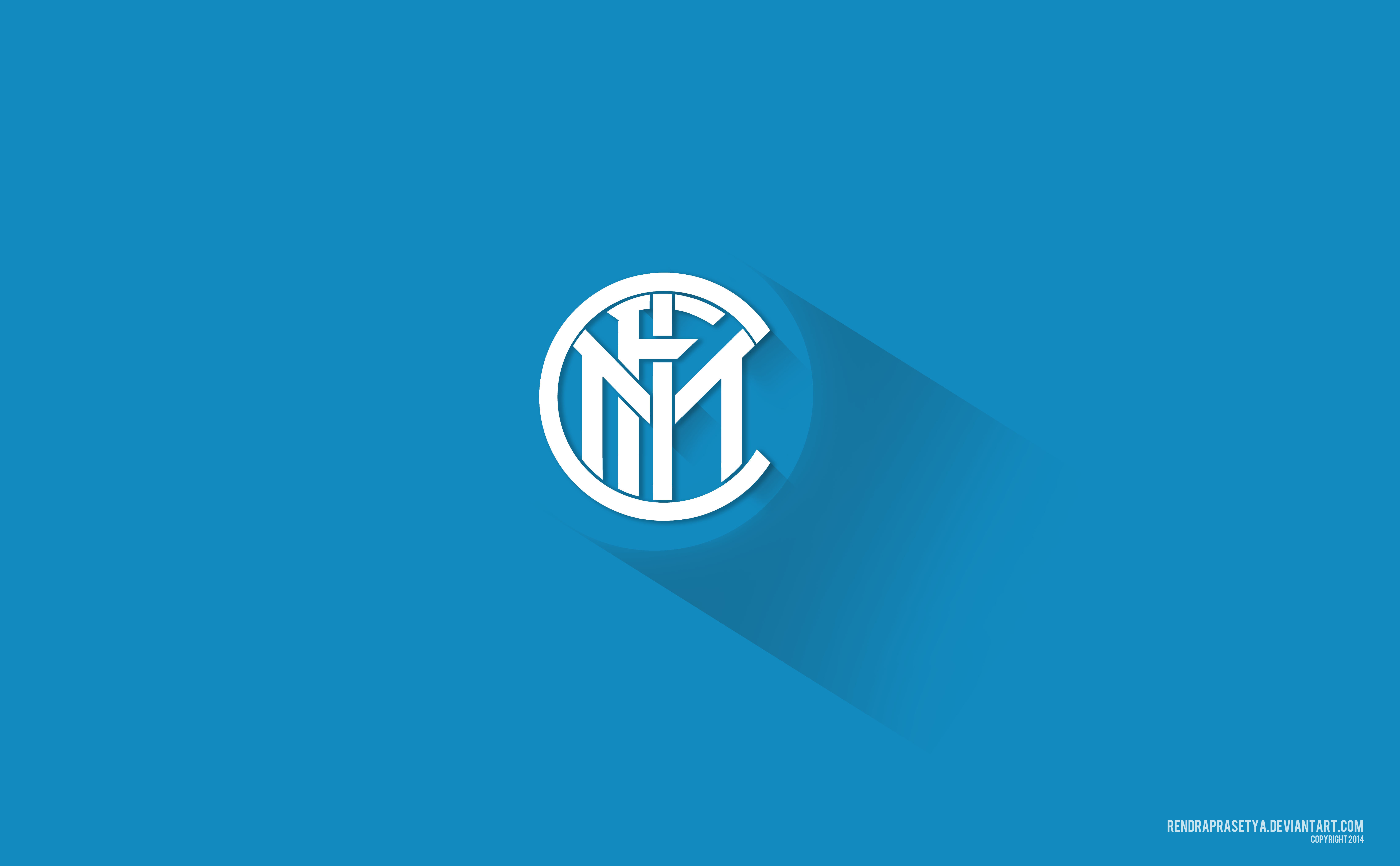 Inter Milan Material Design Logo 5k Hd Sports 4k